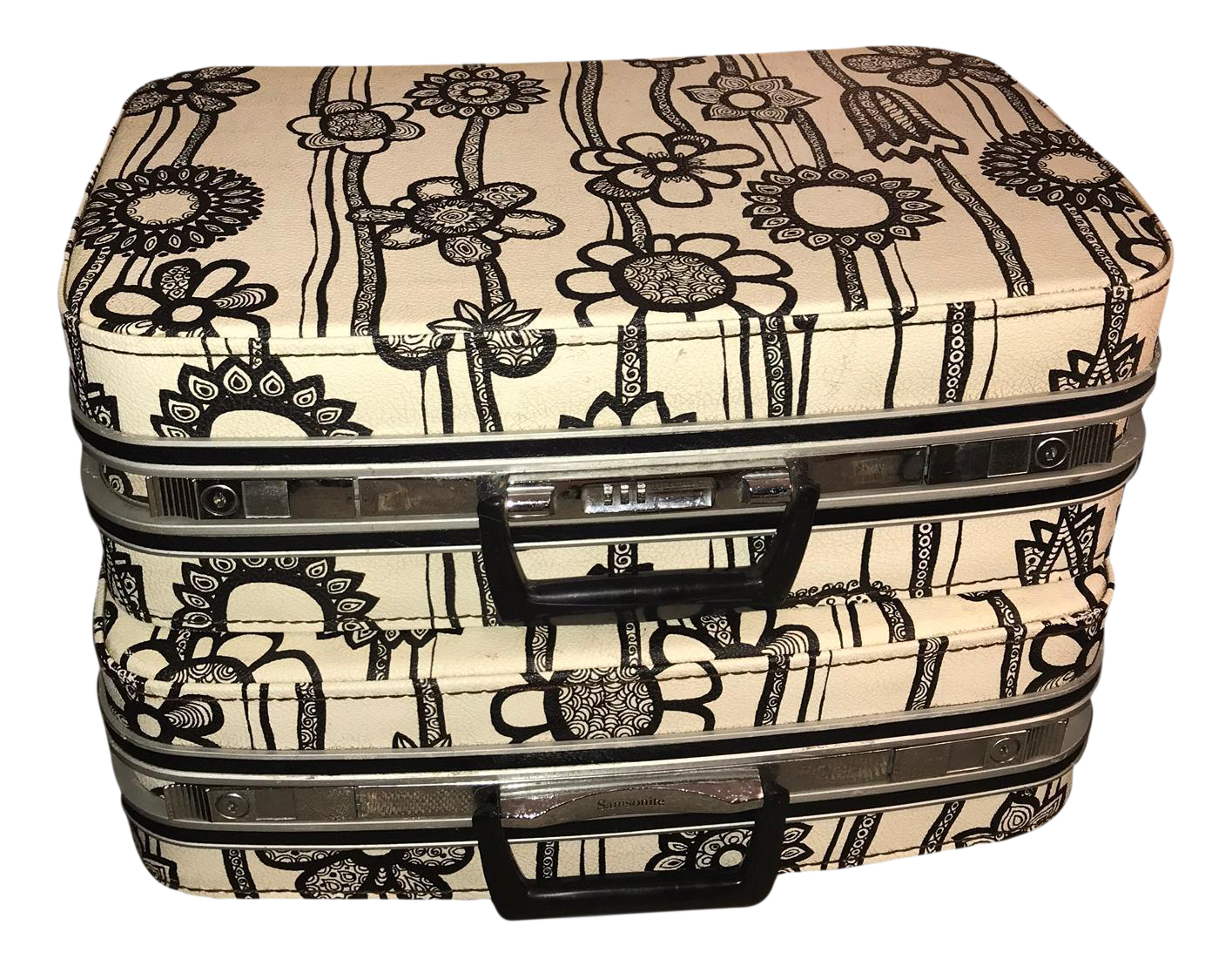 Vintage Samsonite Fashionaire Marimekko Modern Suitcases ...