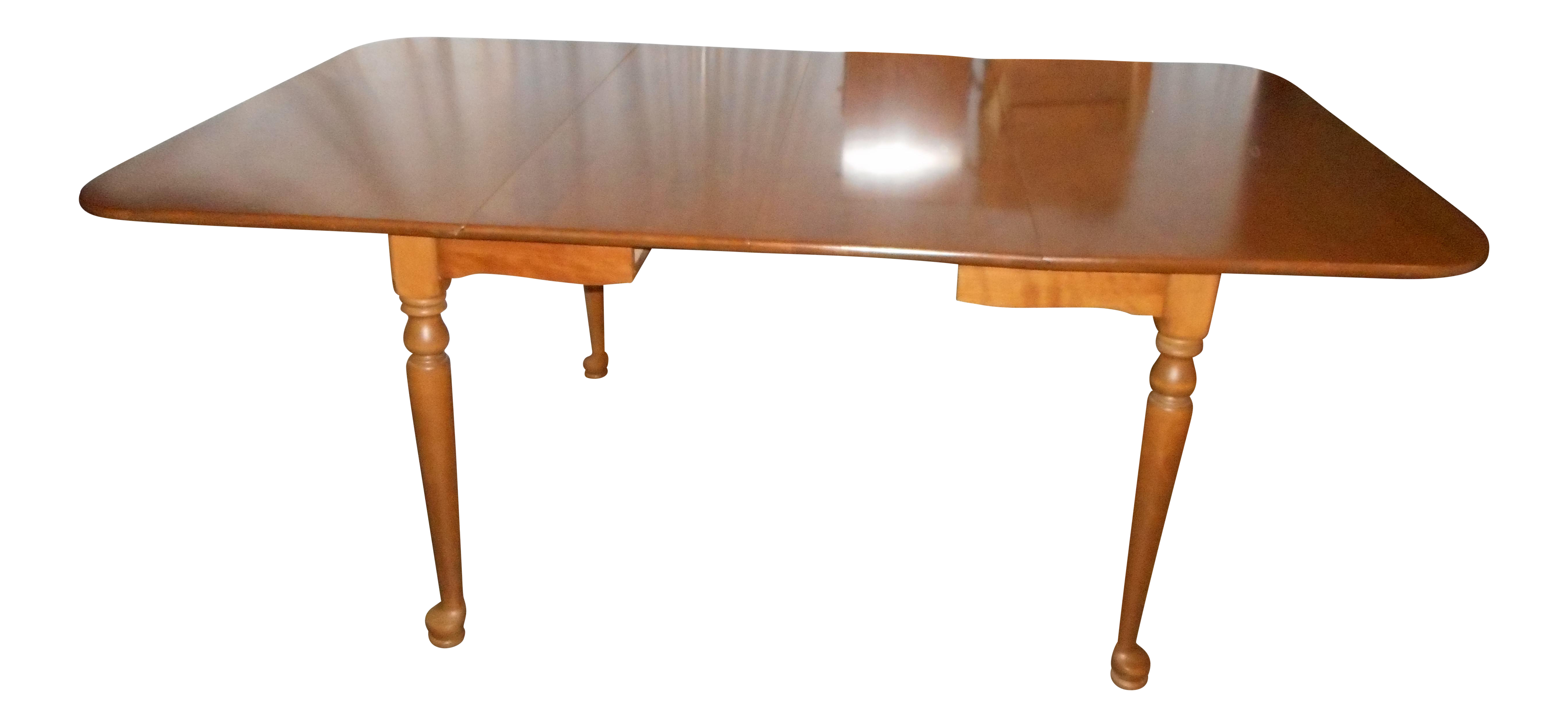 Ethan allen crib for sale - Ethan Allen Drop Leaf Gate Leg Dining Table 2 Leaves Pads