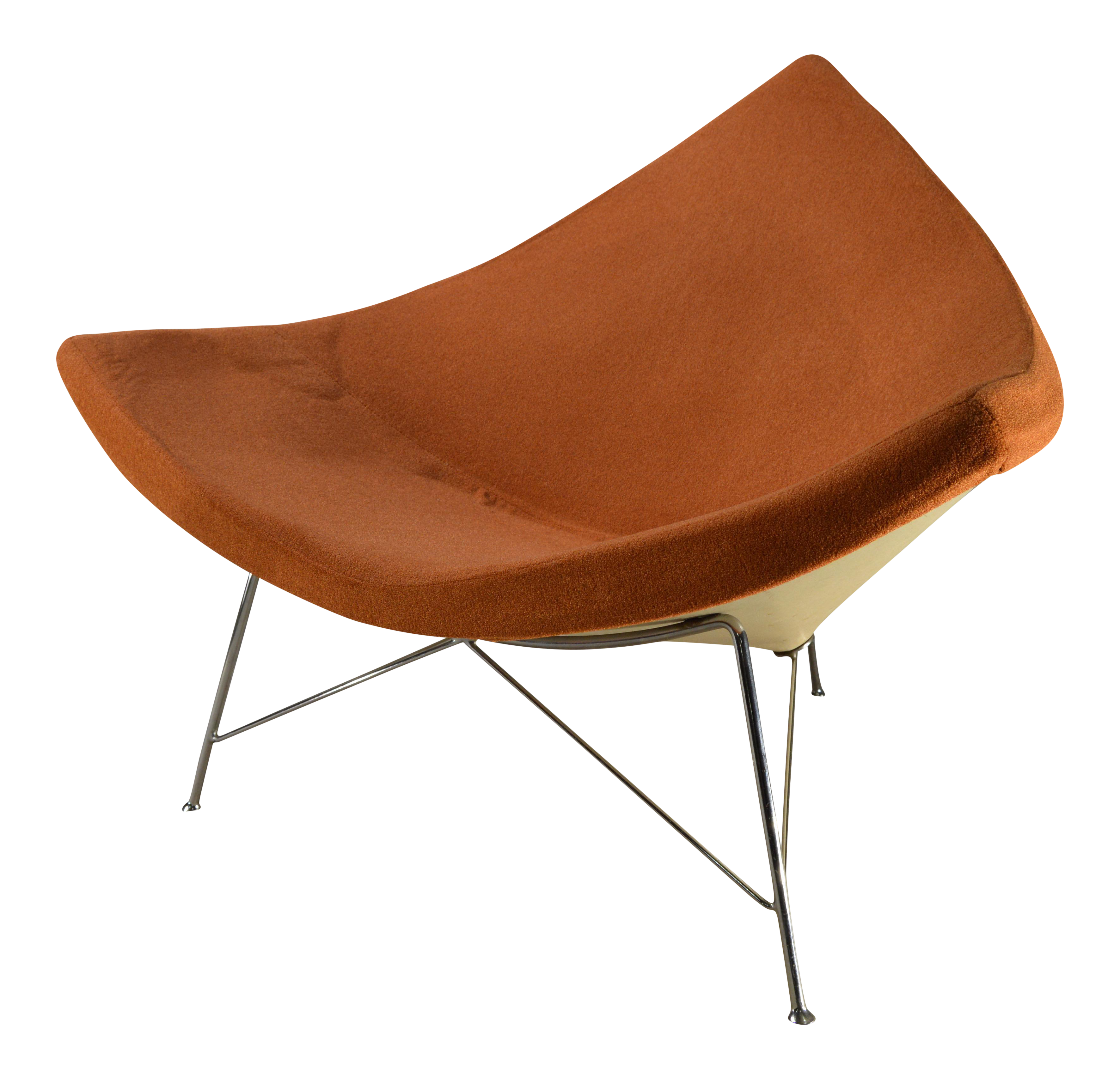 Vintage George Nelson for Herman Miller Coconut Lounge Chair | Chairish