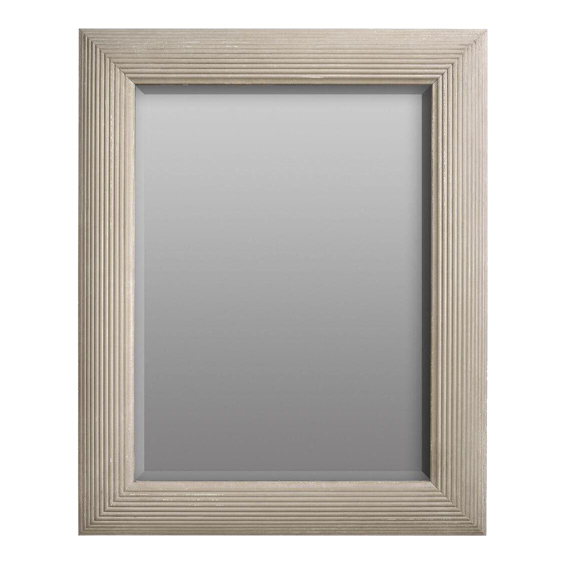 . sarreid ltd 'karina' gray mirror  chairish