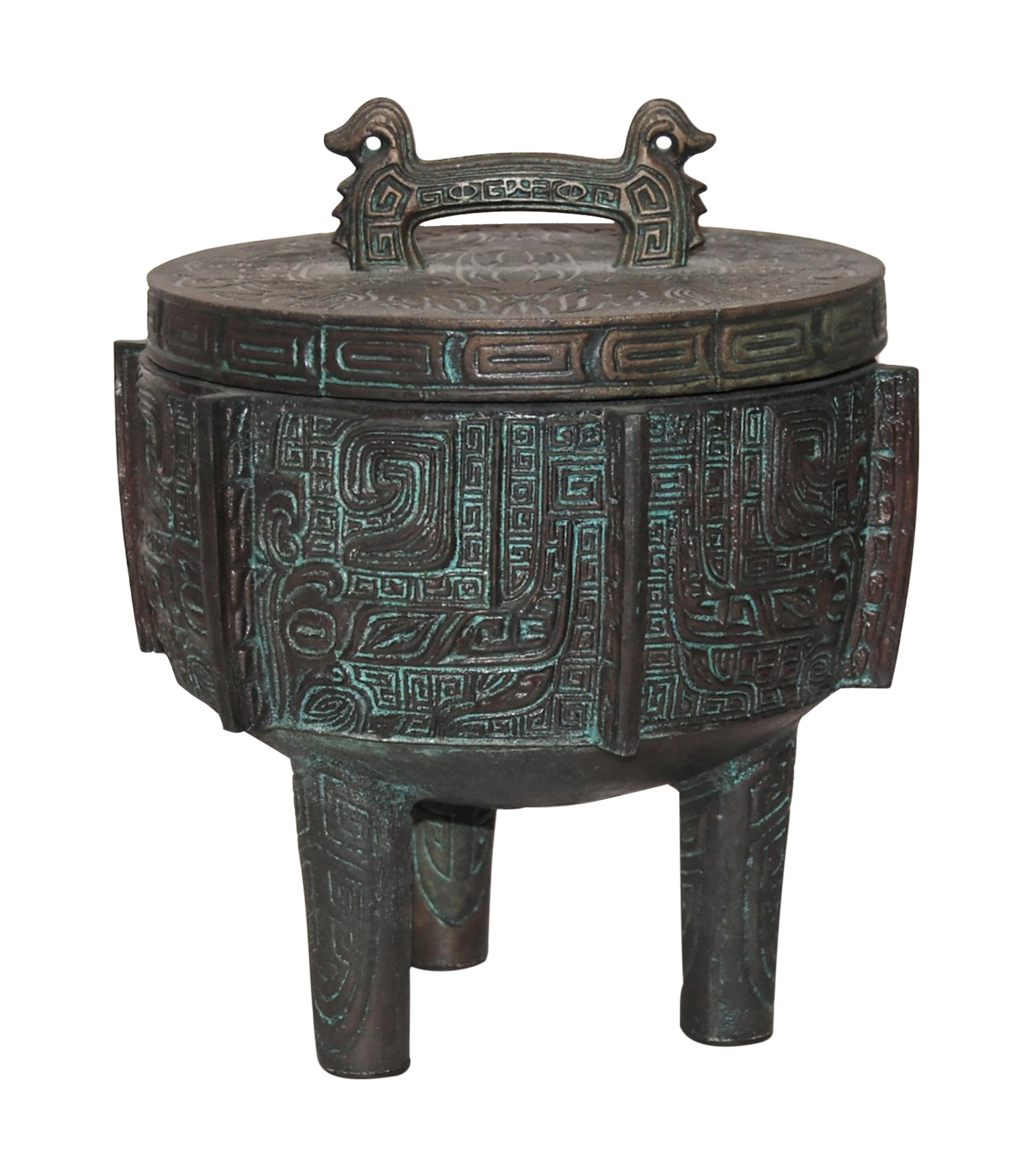 James Mont Attributed Mayan Ice Bucket Chairish