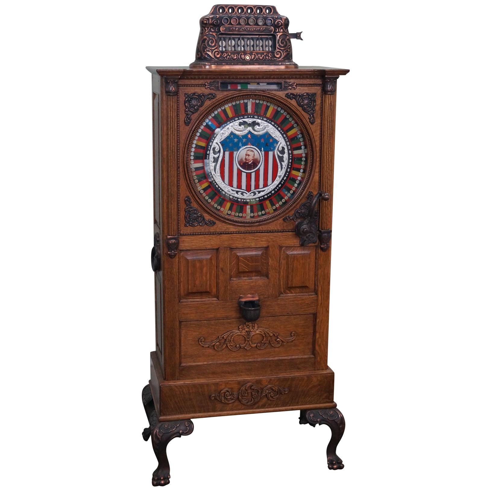 upright slot machine