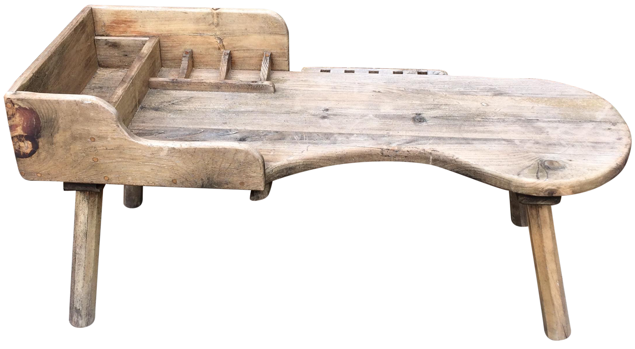 Antique Primitive Wood Cobbler S Bench Chairish