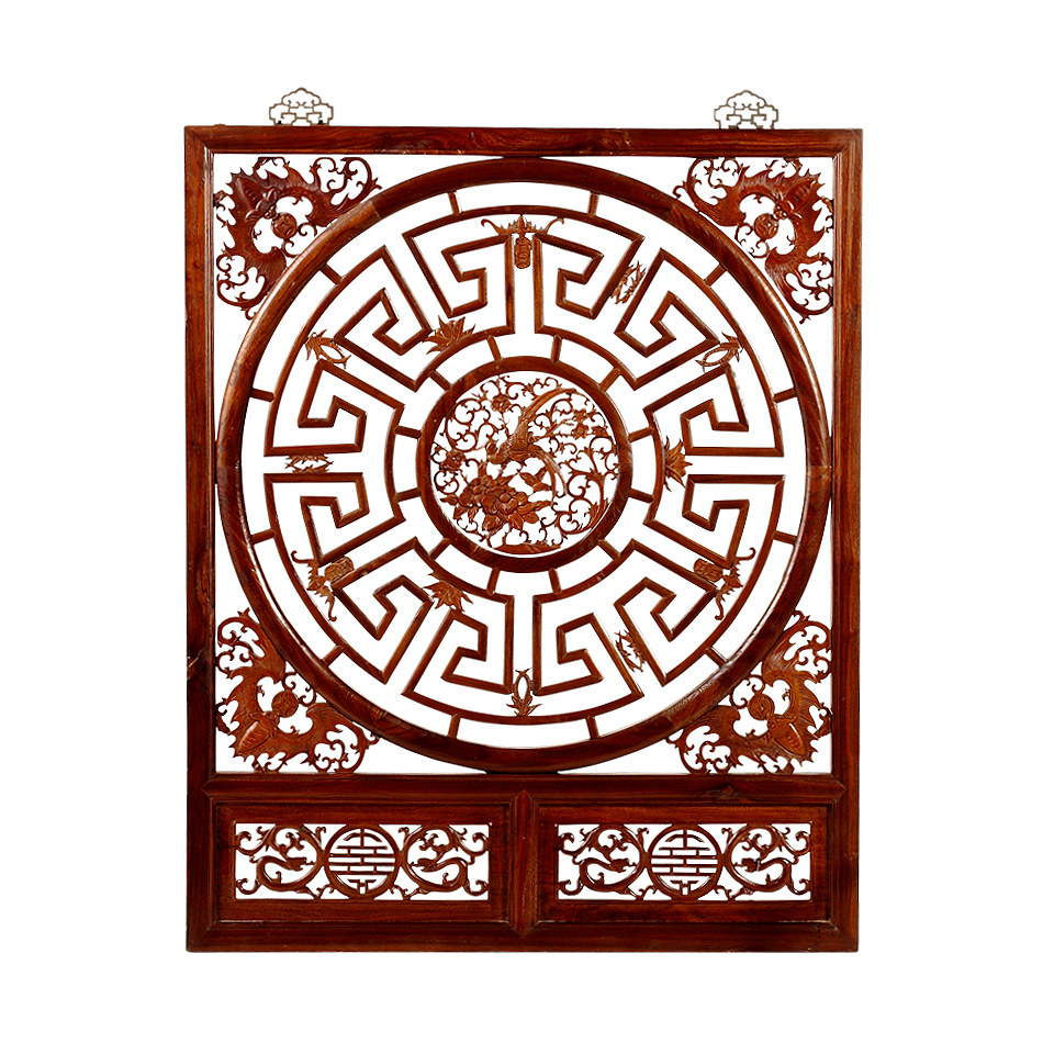 Vintage Chinese Fretwork Panel Chairish