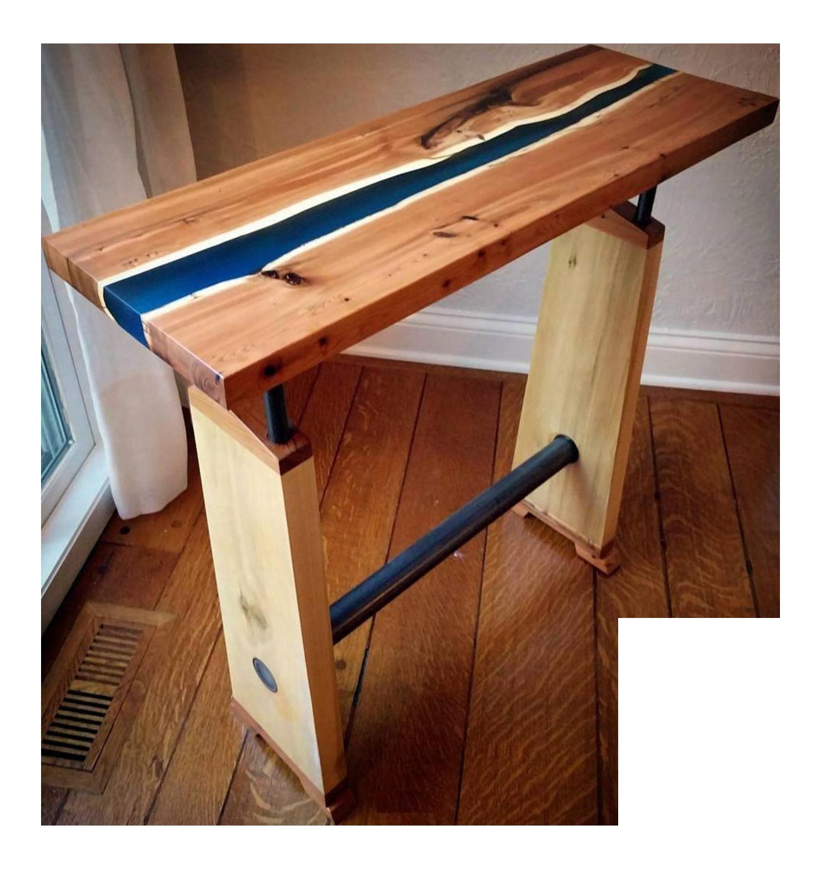 Live Edge River Table Chairish