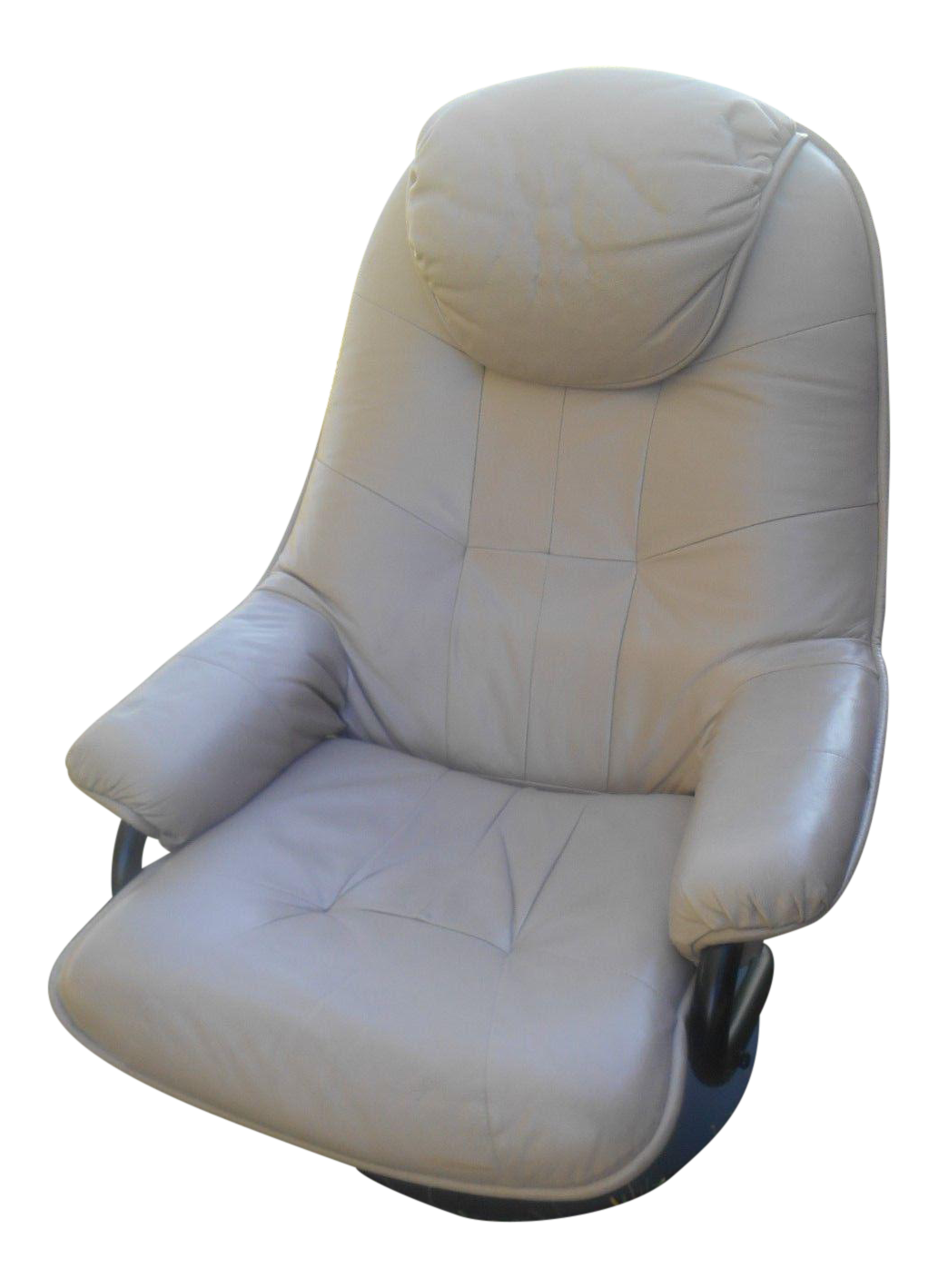 sc 1 st  Chairish : beige leather recliner - islam-shia.org