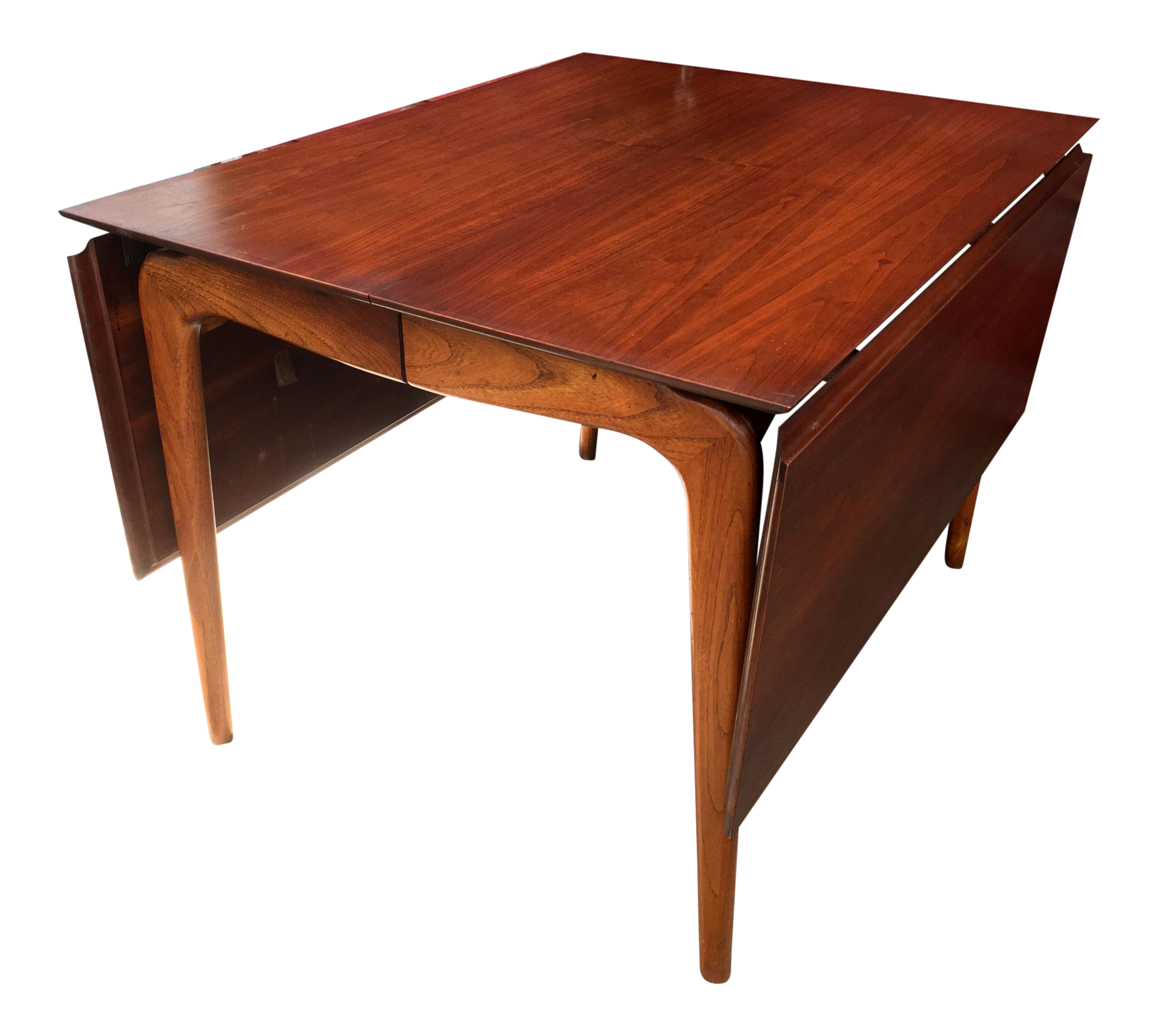 Mid Century Lane Copenhagen Drop Leaf Coffee Table: Mid-Century Modern Lane Perception Drop Leaf Dining Table