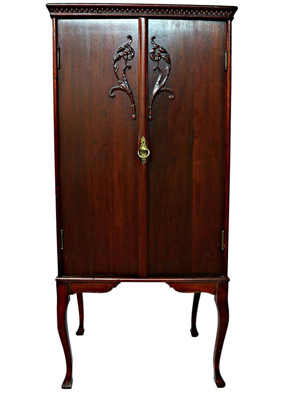 Antique Sheet Music Cabinet Chairish