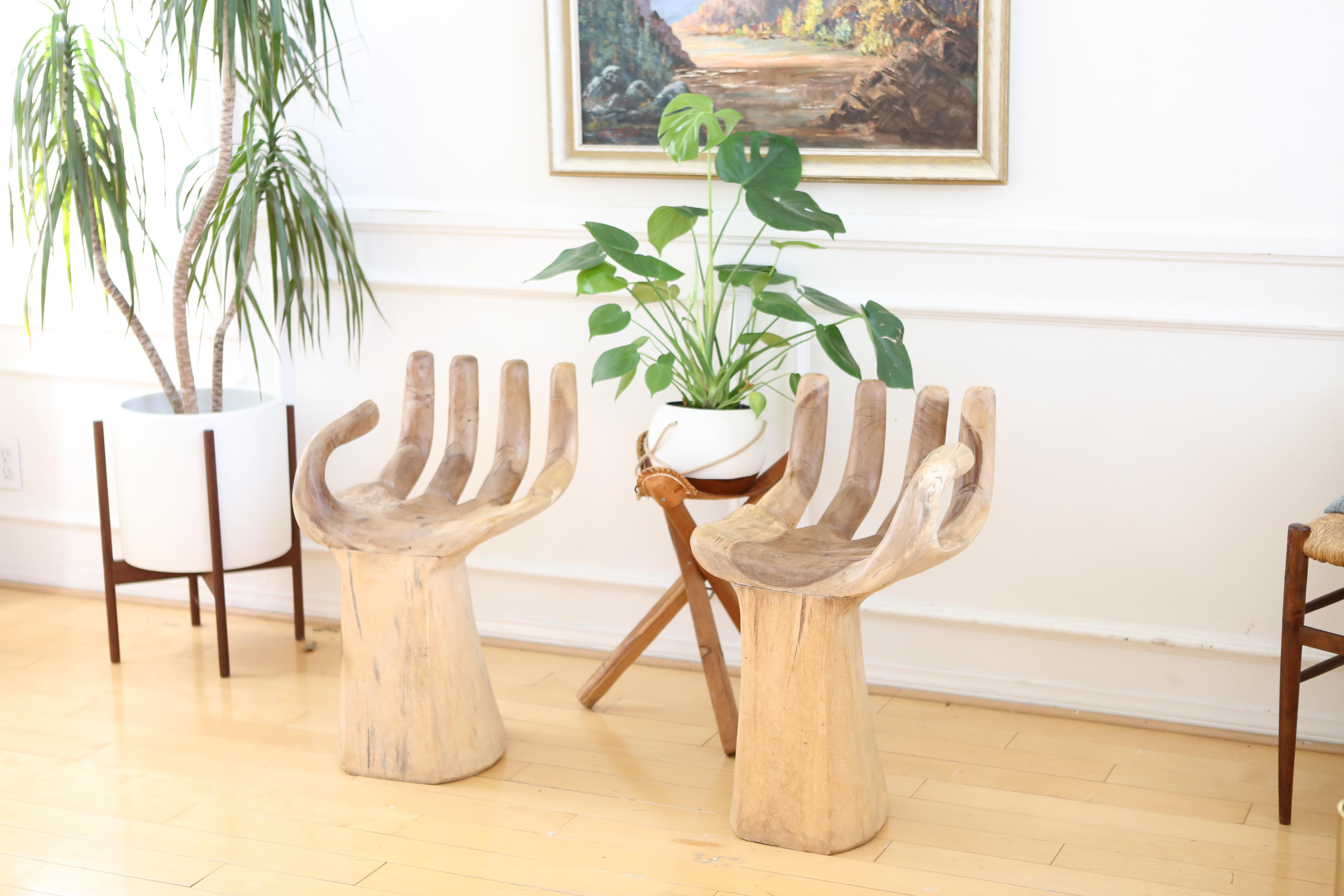 Hand Chairs Awesome Mid Century Modern Rmic Molded Hand Chair