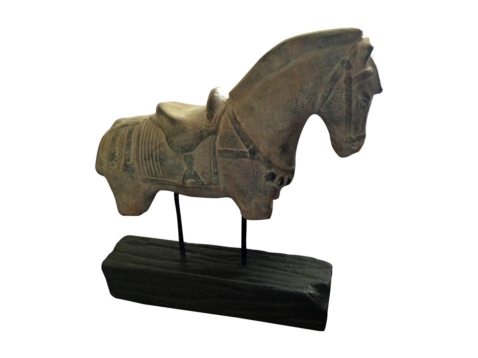 Horse home d cor chairish for Horse decorations for home