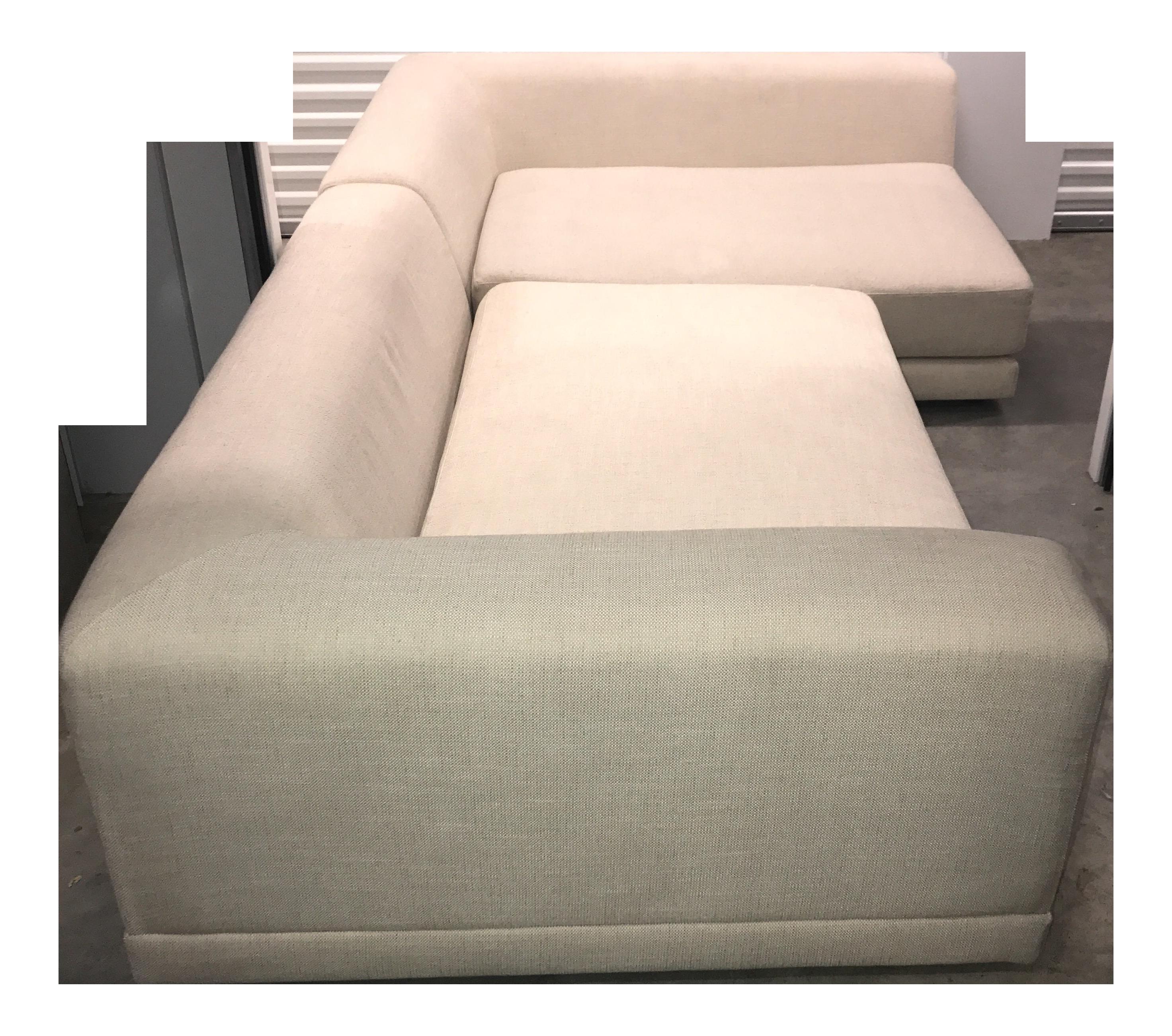 CB2 Uno Sectional Sofa