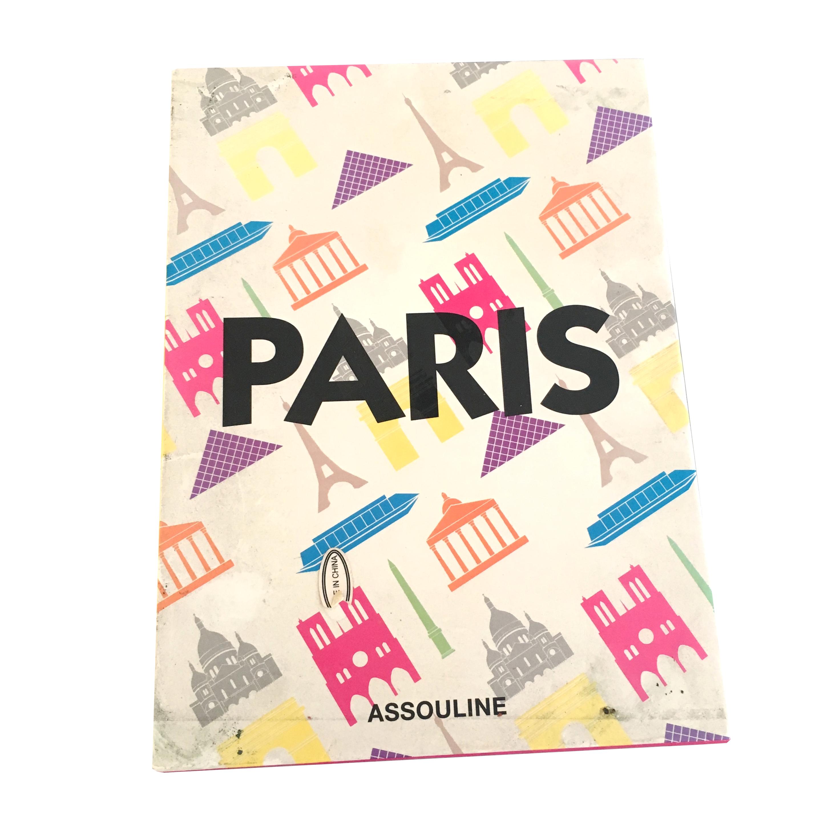 Paris Assouline Coffee Table Book