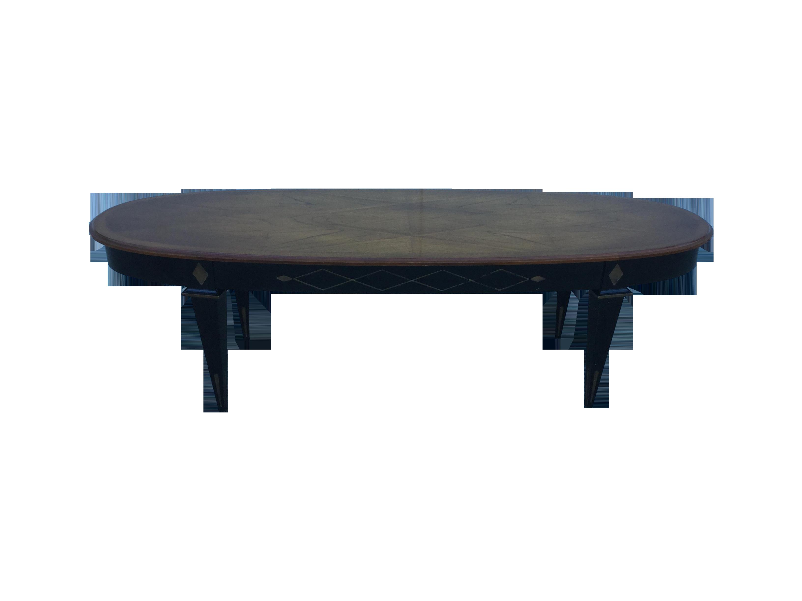 1950's schmieg & kotzian coffee table | chairish
