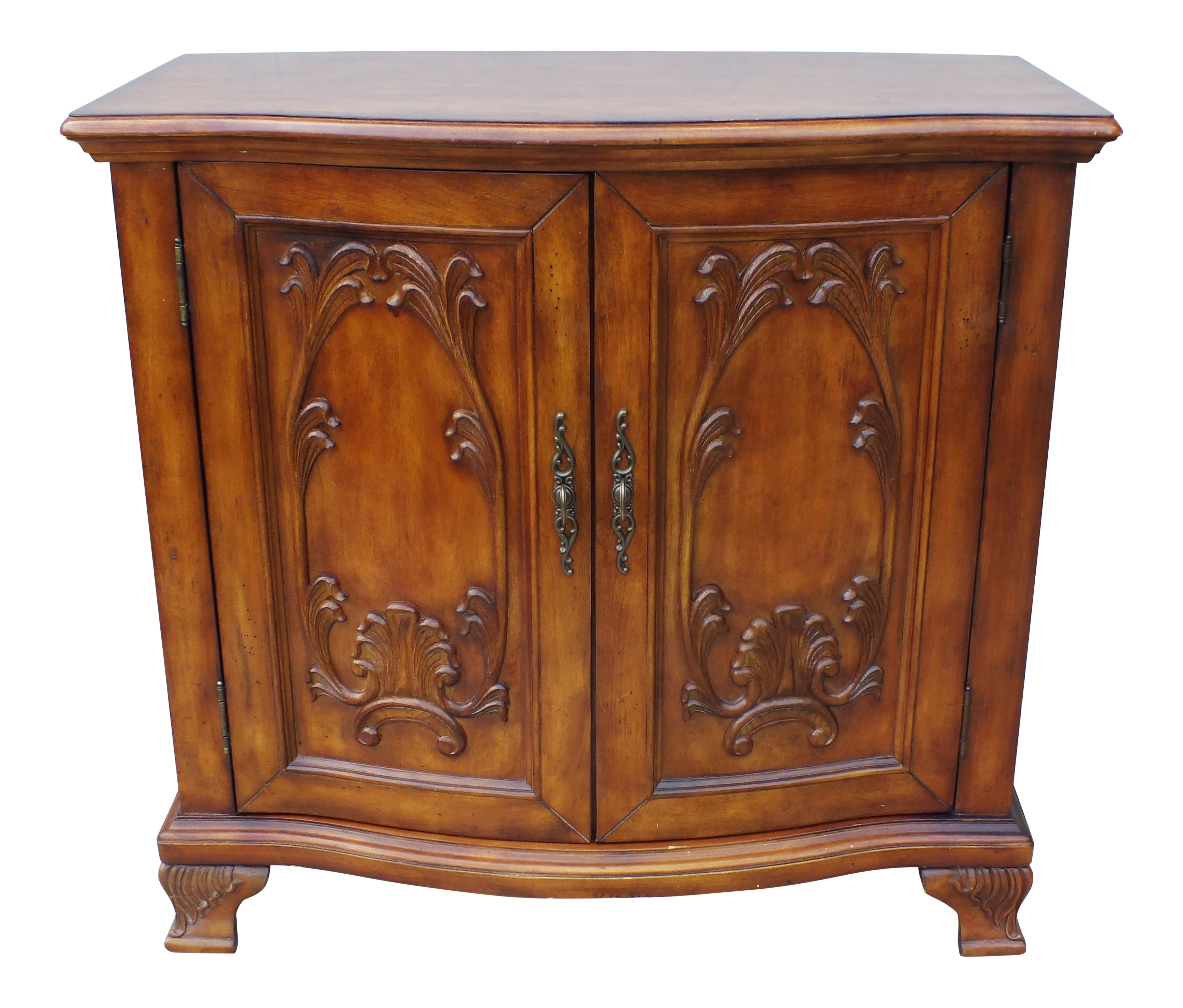 French Provincial Kitchen Cabinets: French Provincial 2-Door Cabinet Server
