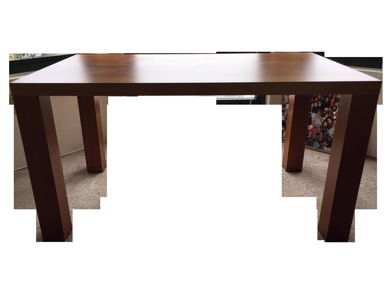 boconcept walnut veneer desk chairish. Black Bedroom Furniture Sets. Home Design Ideas