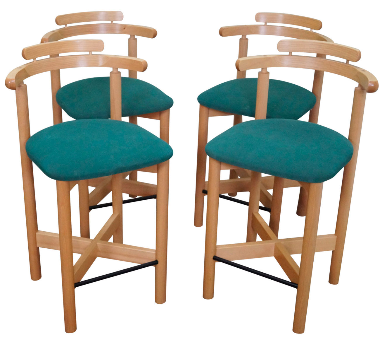 100 teal bar stools kitchen progress side shell stools from