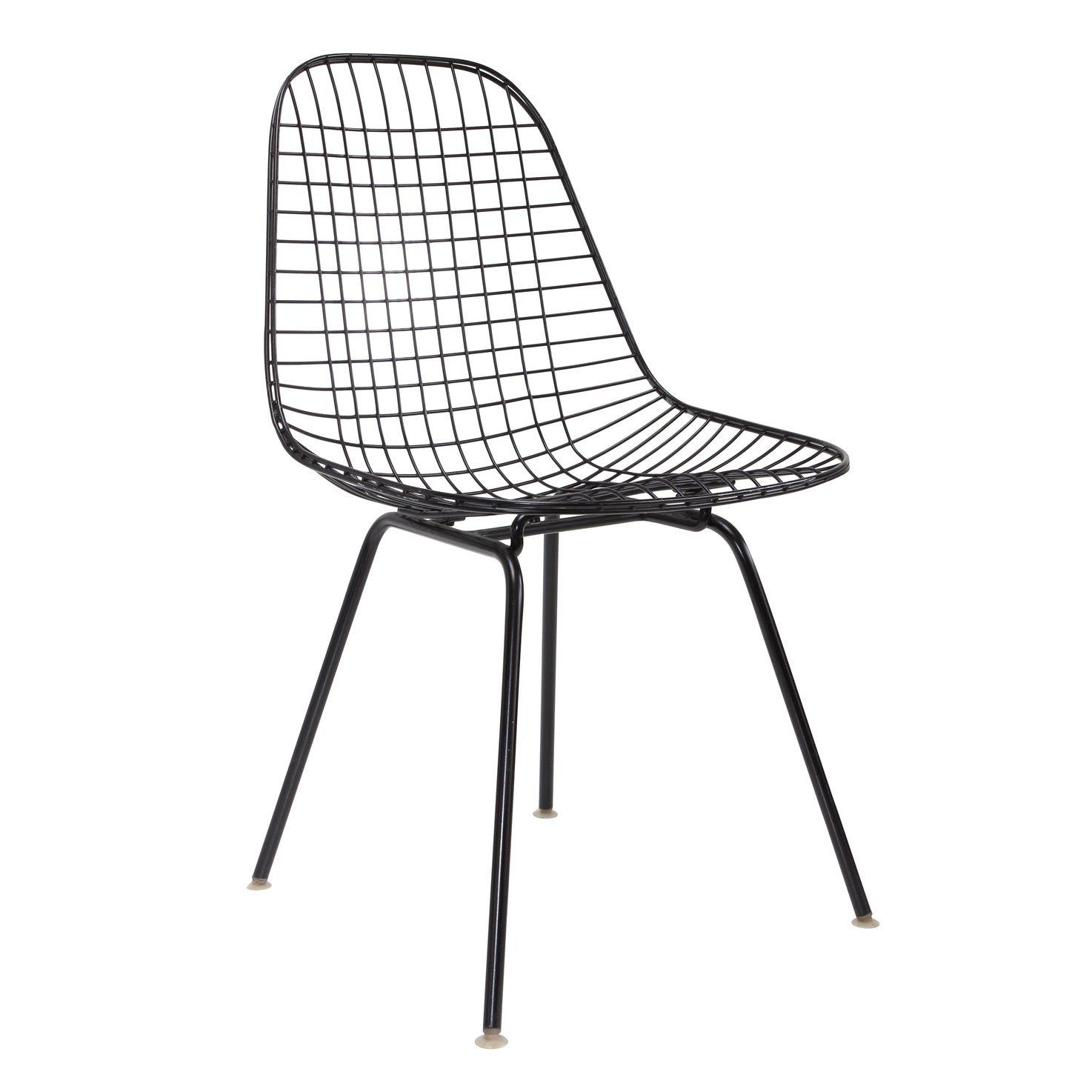 Herman Miller Wire Side Chair  Chairish