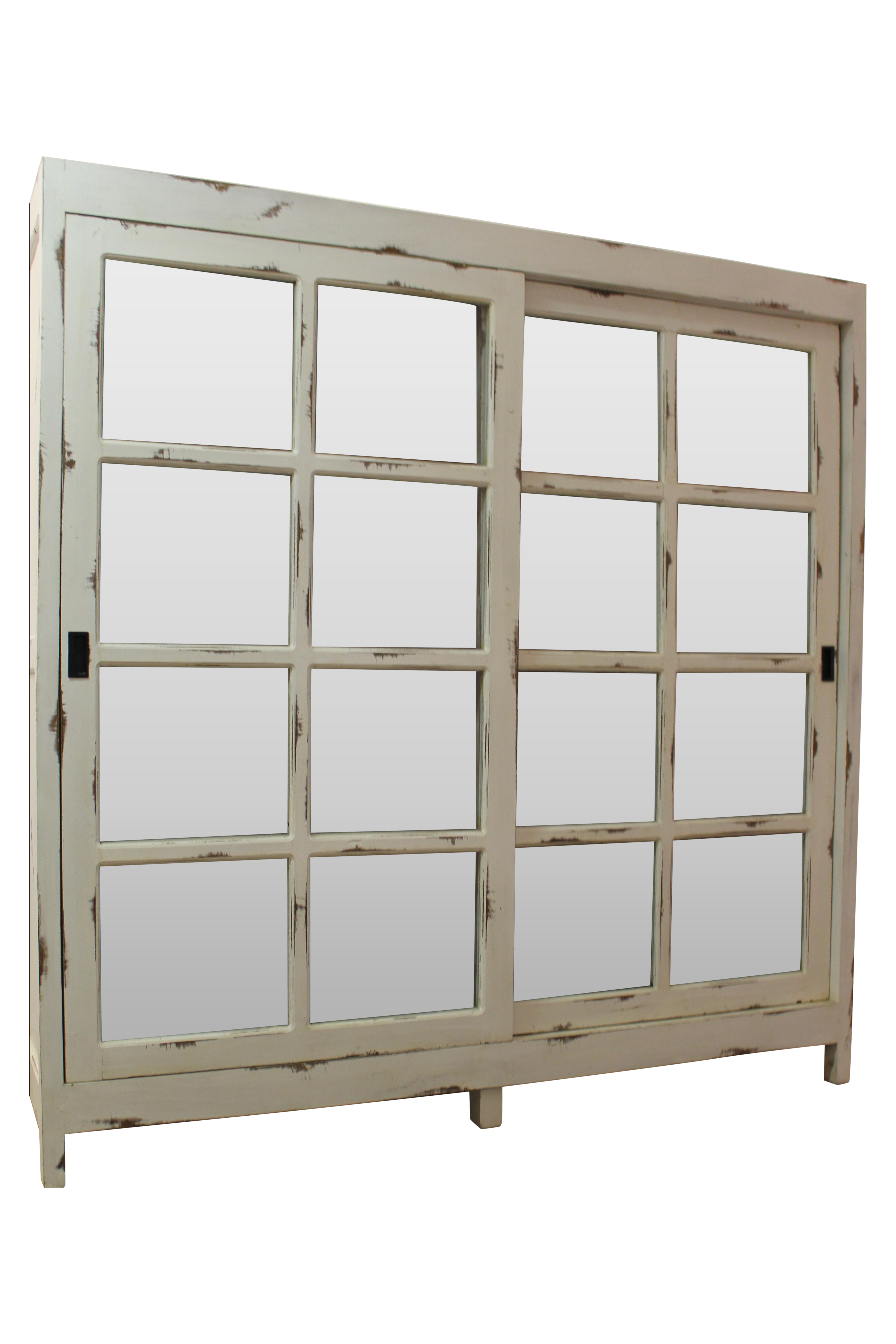 5184 #5E4E3C Country French Painted White Sliding Door Pantry Chairish wallpaper 3ft French Doors 46653457