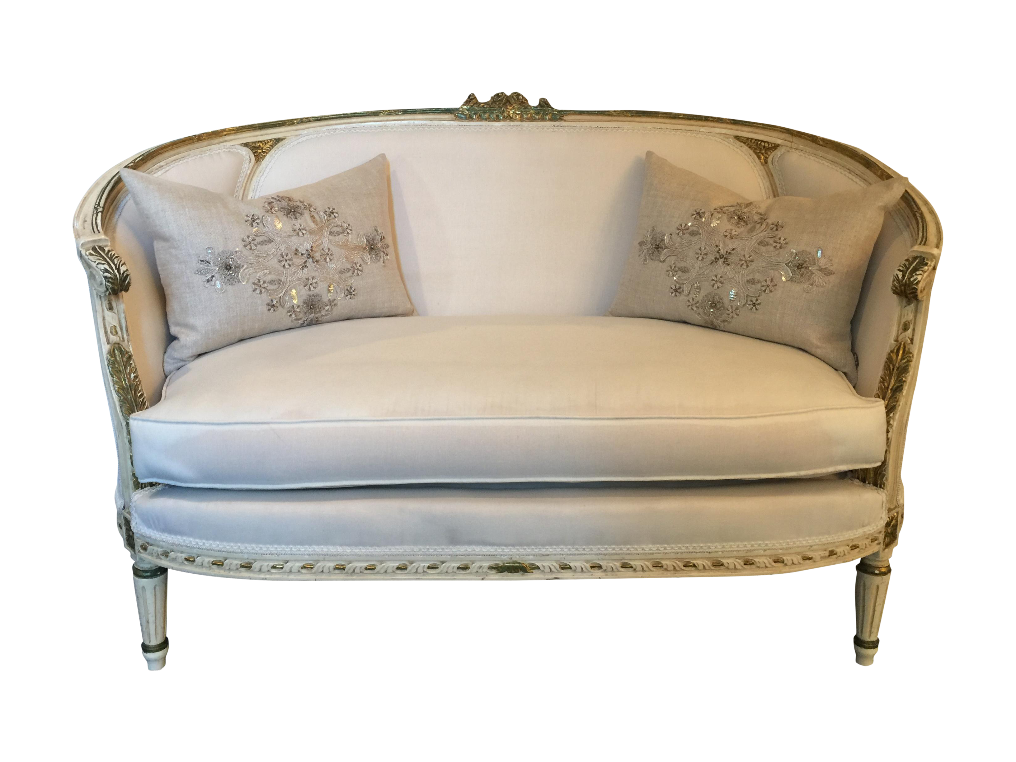 Antique French Louis Xvi Settee Loveseat Sofa Chairish