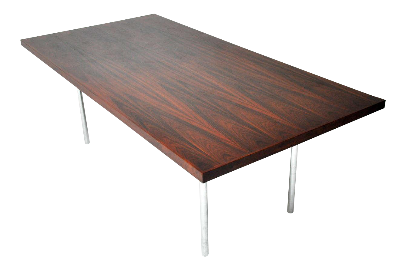 Rosewood Dining Table Distinguished Rosewood Dining Table After Mies Van Der Rohe Decaso
