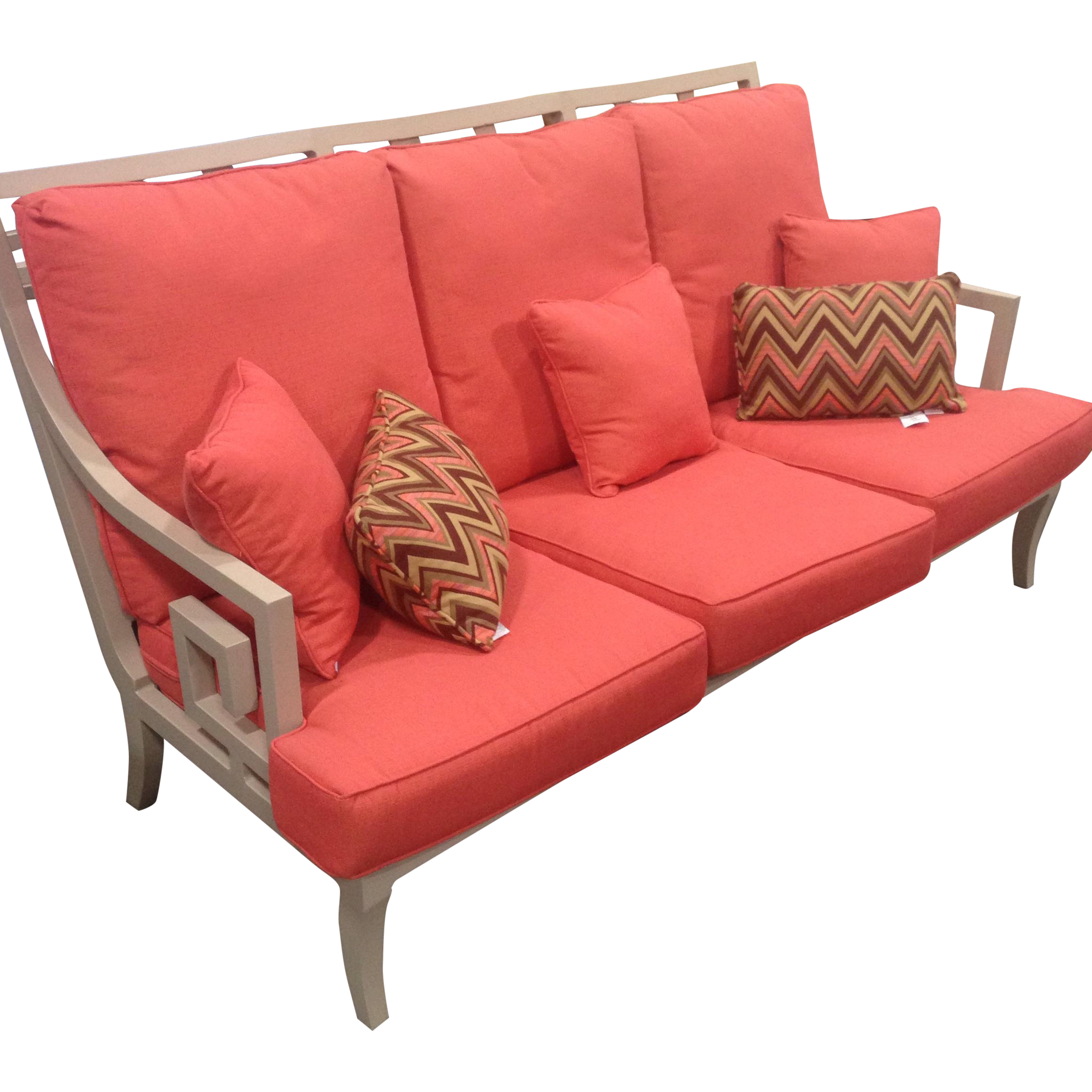 Lane Venture Outdoor Sofa Peach Color
