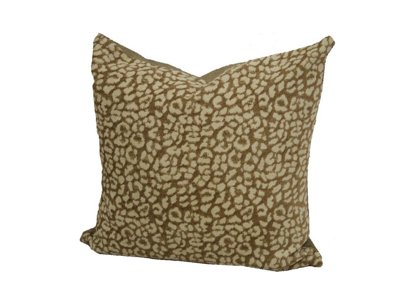 Throw Pillows Spotlight : Chenille Leopard Spot Throw Pillow Chairish