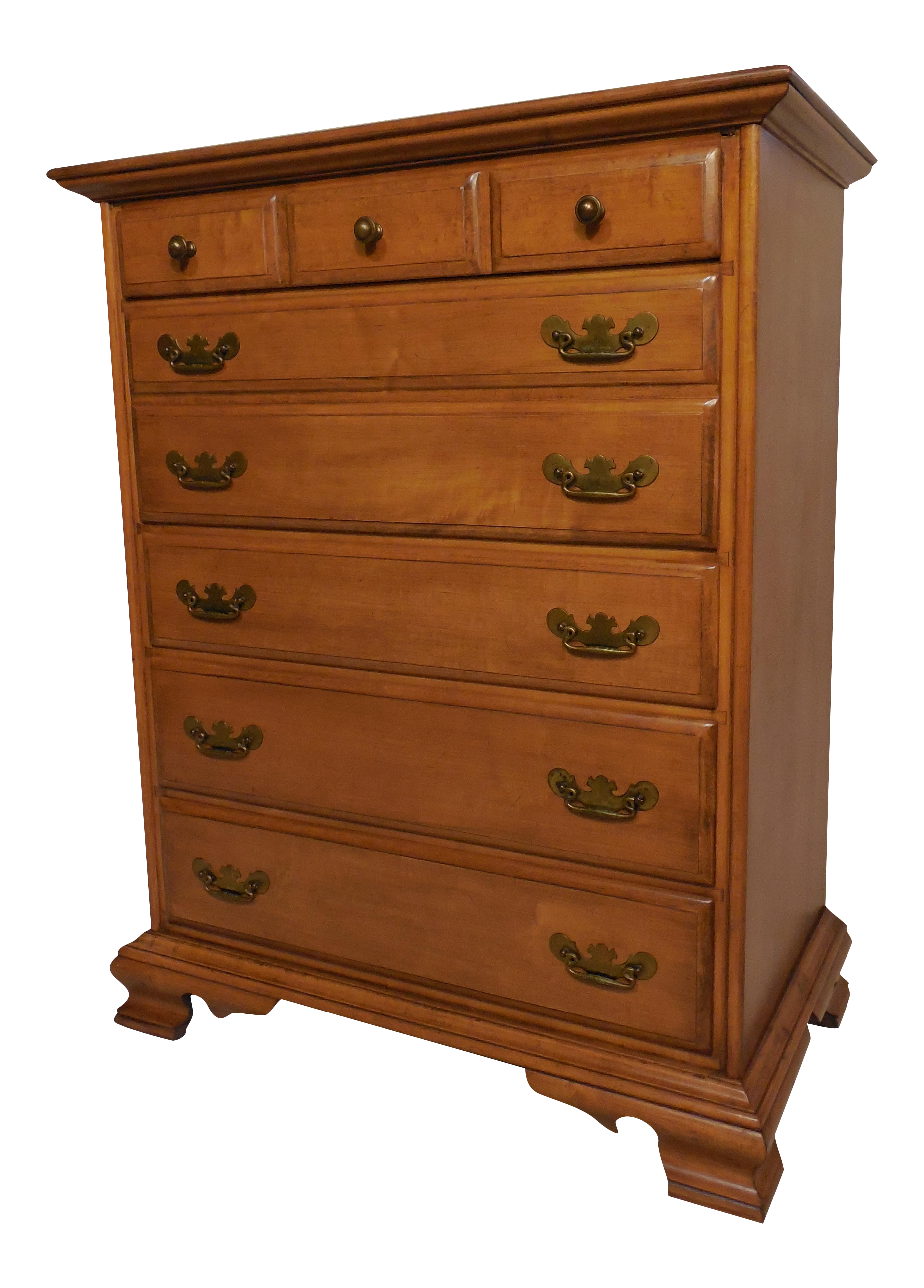 Conant Ball Chippendale Style Maple Dresser Chairish