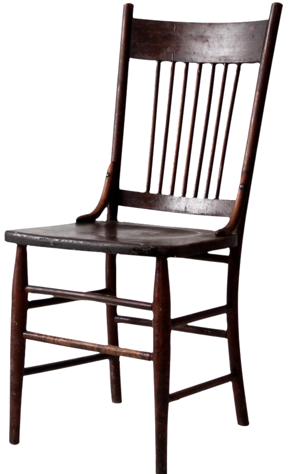 Antique Spindle Back Chair Chairish