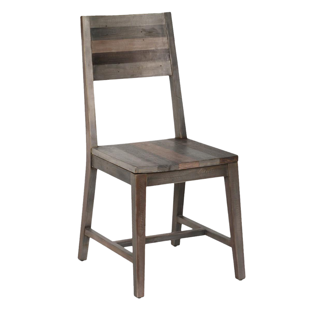 Rustic Reclaimed Wood Dining Chair Chairish