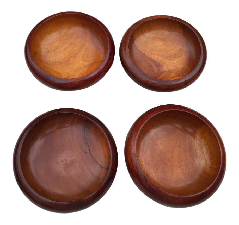 Danish Modern Teak Bowls Set Of 4 Chairish