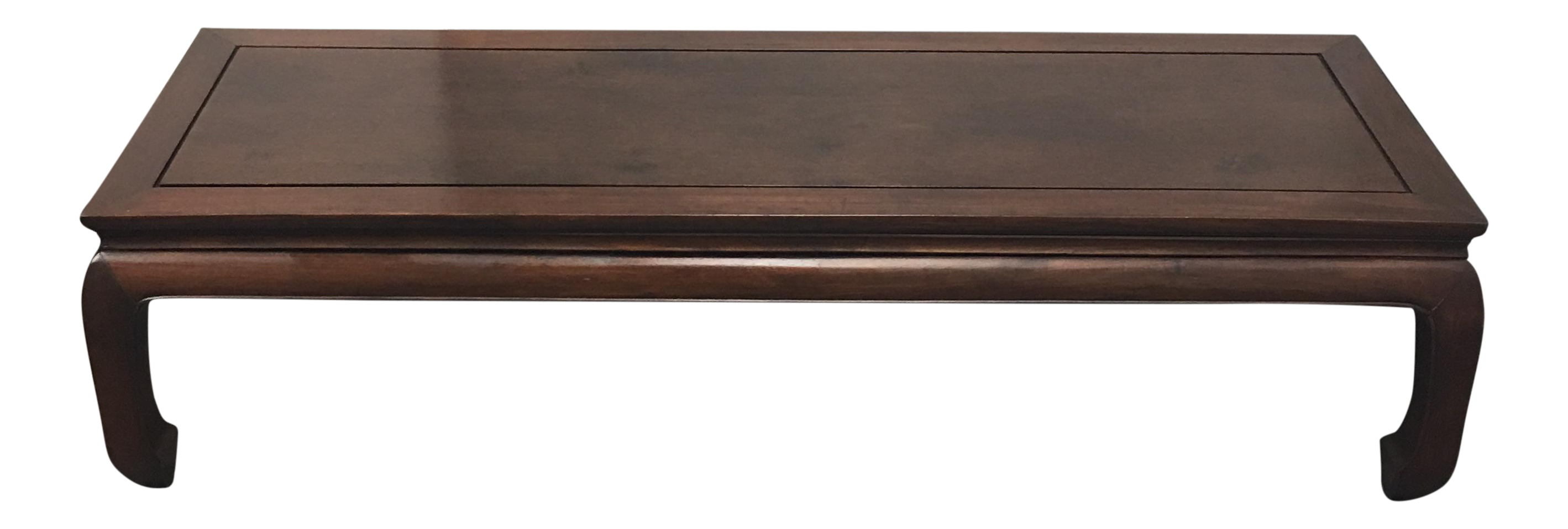 Asian Style Wood Coffee Table