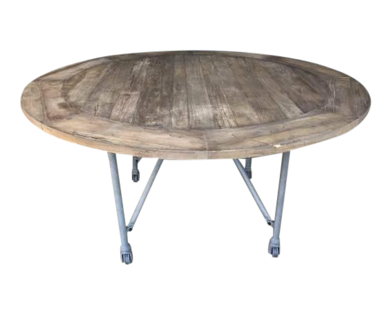 Restoration Hardware Round Dining Table Chairish : restoration hardware round dining table 9736 from www.chairish.com size 570 x 460 png 190kB