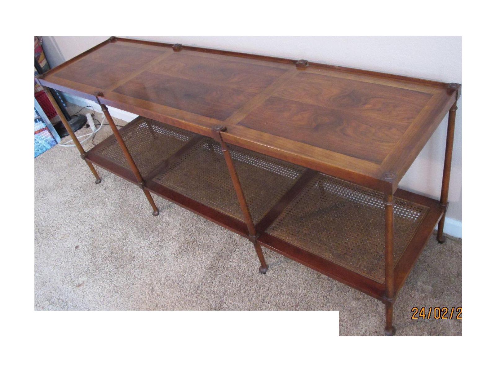 Vintage Baker Furniture Console 1960 39 S Chairish