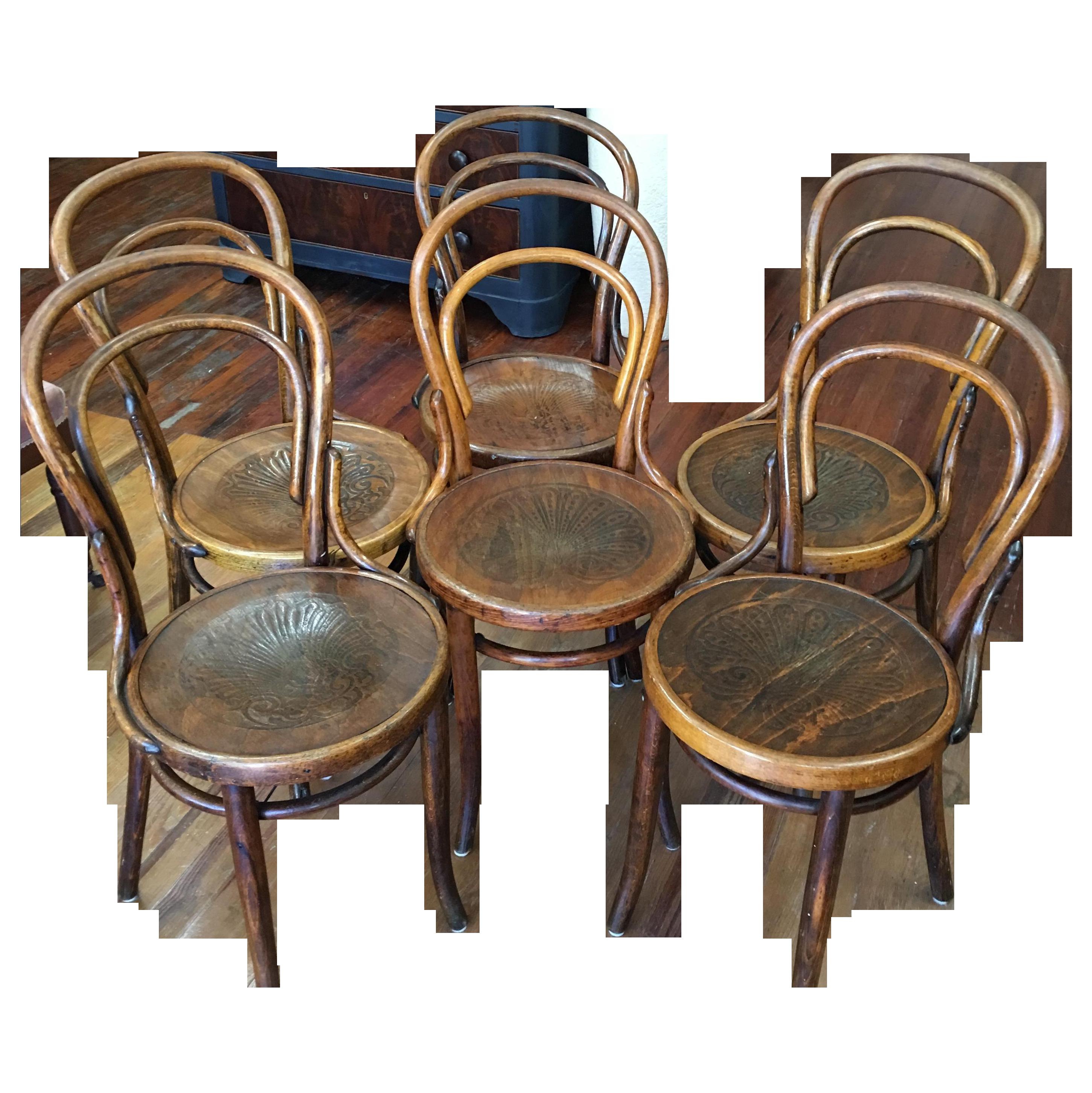 Jacob & Josef Kohn Bentwood Chairs Set of 6