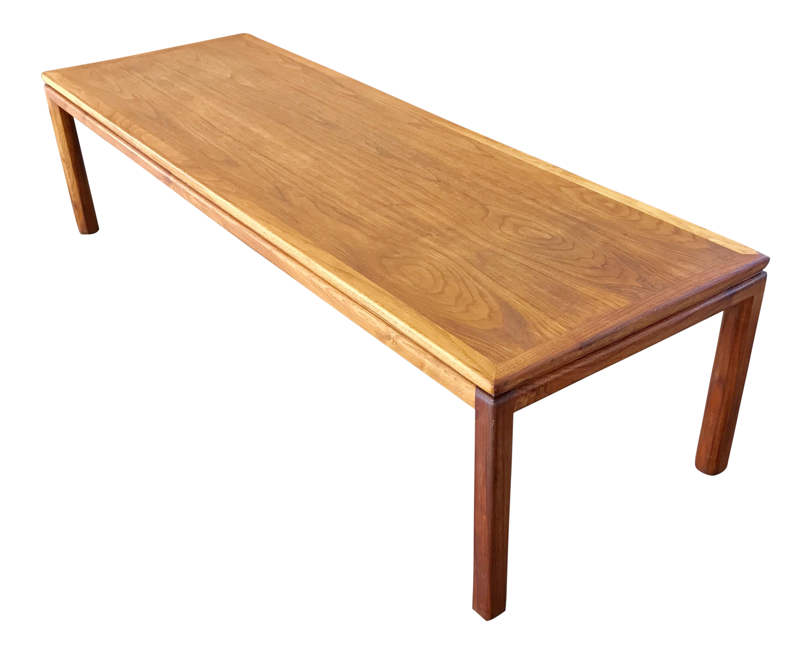 Edward Wormley for Dunbar Walnut & Mahogany Table
