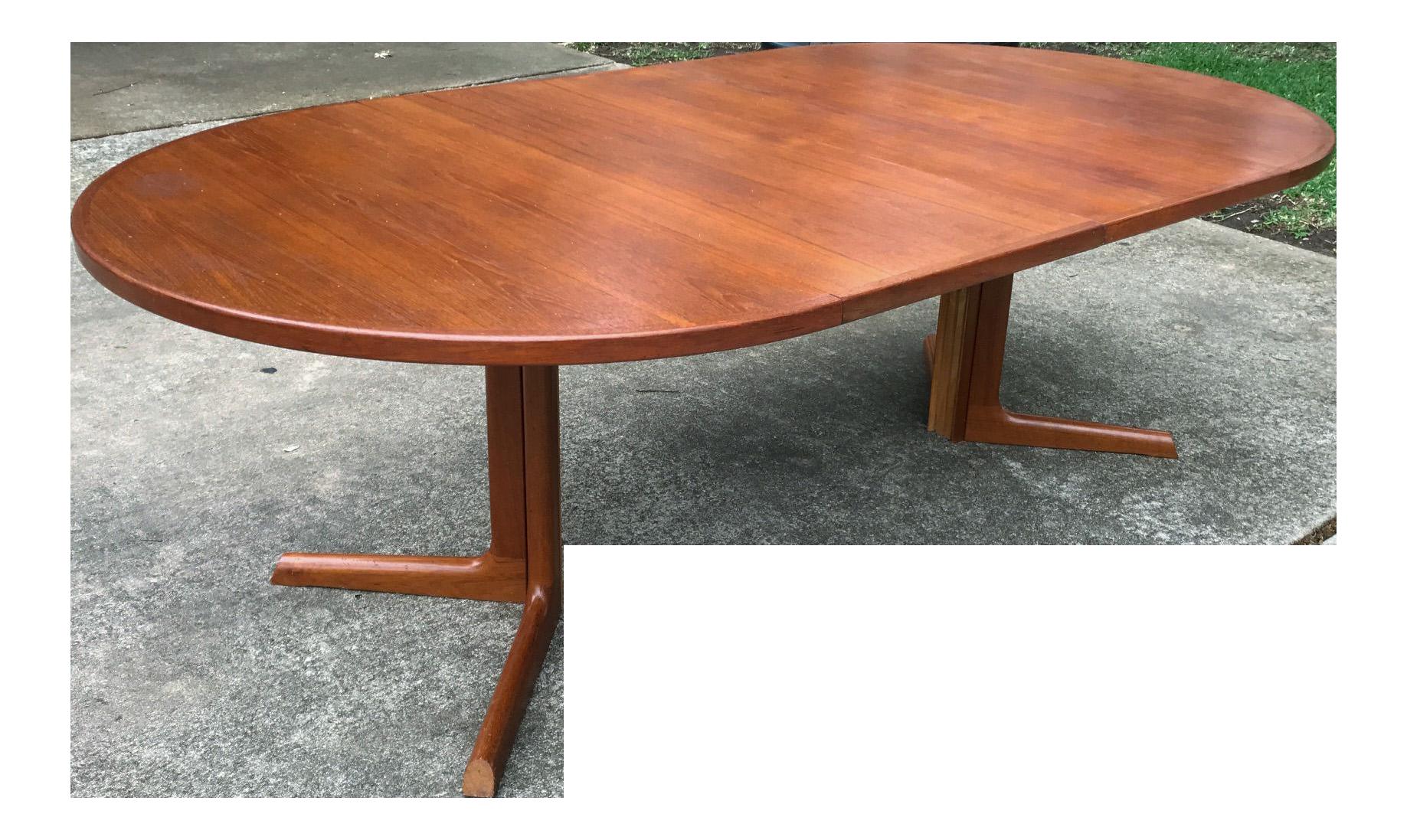 Danish Modern Gudme Mobelfabrik Teak Dining Table