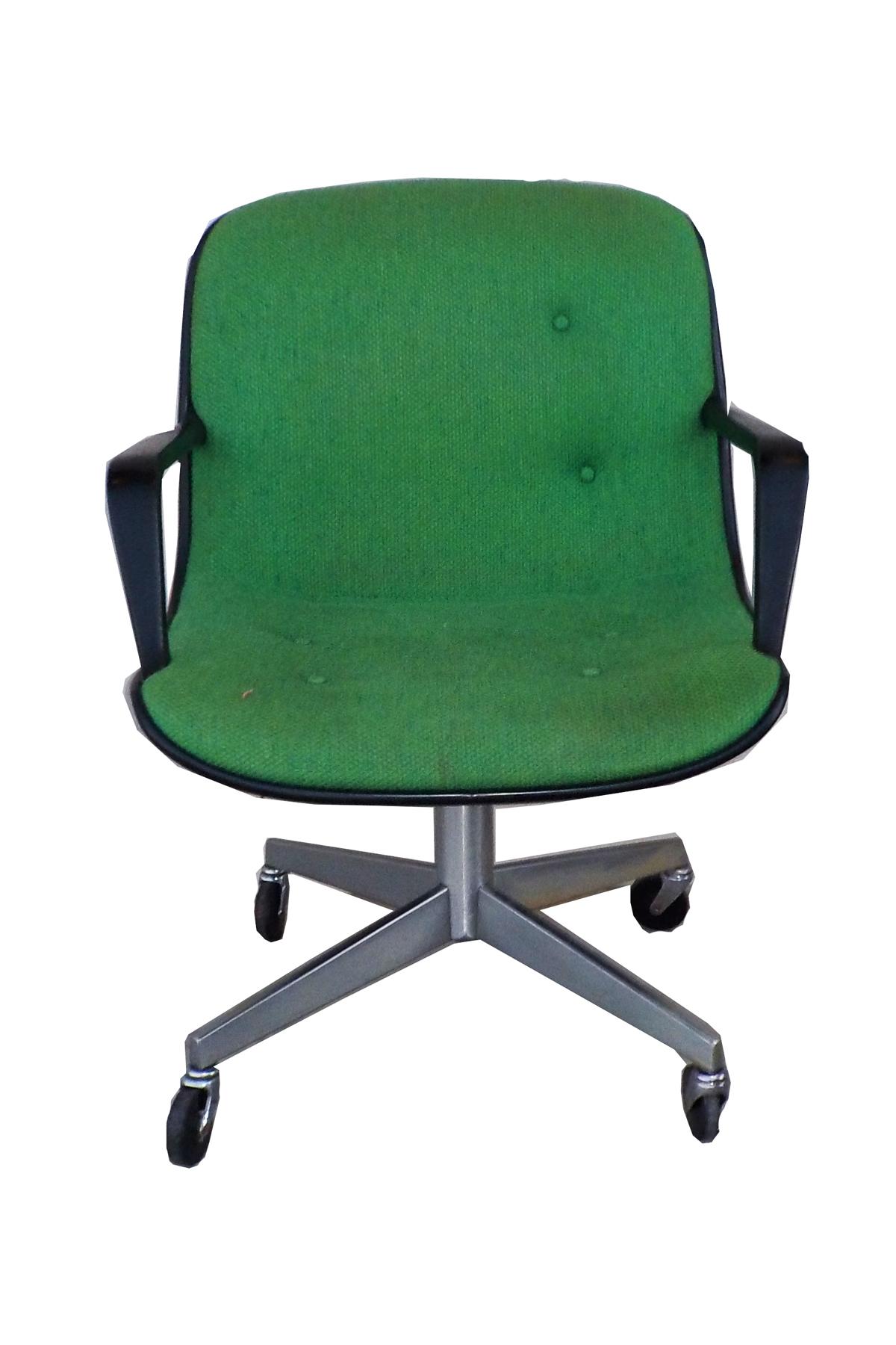 Mid Century Modern SteelCase Vintage Green fice Chair
