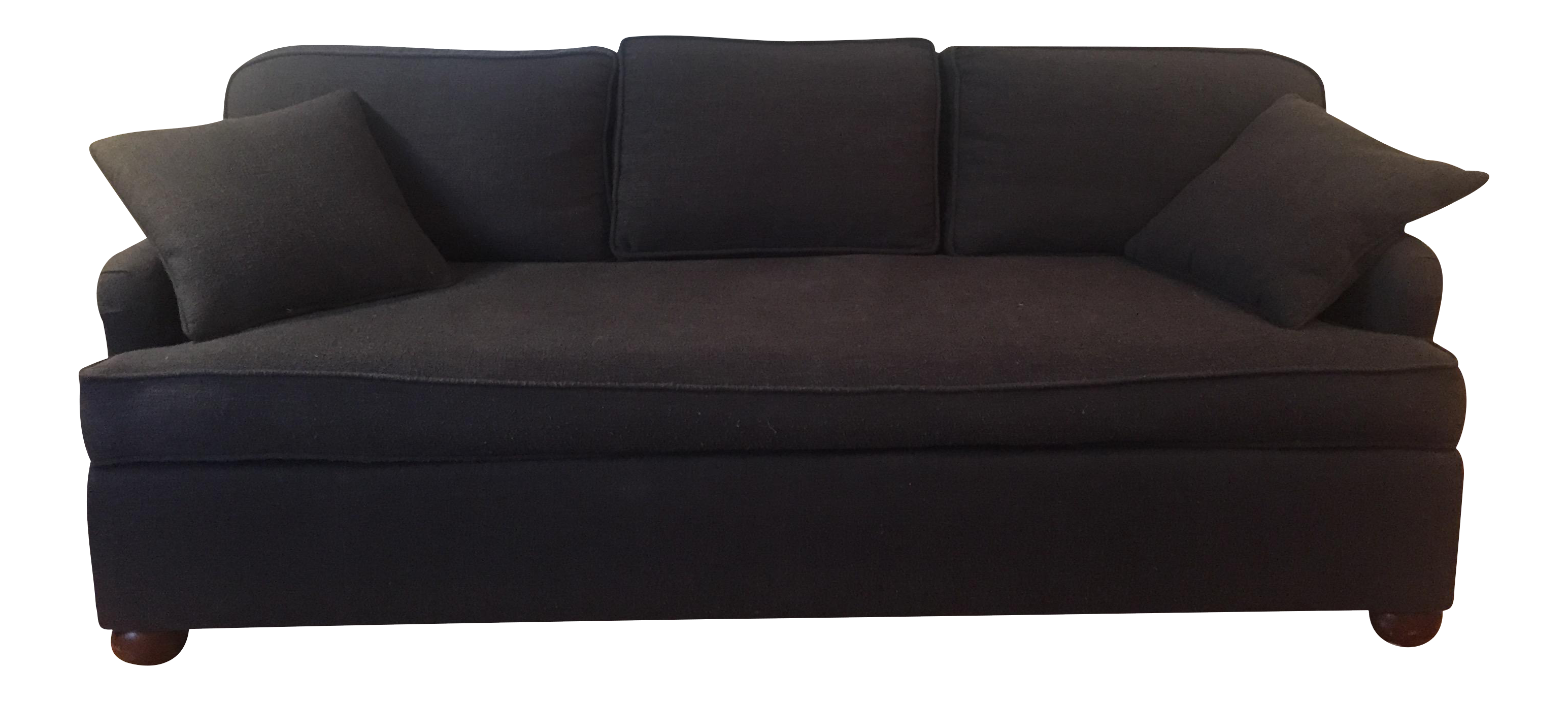 MidCentury Modern Down Filled Sofa Chairish