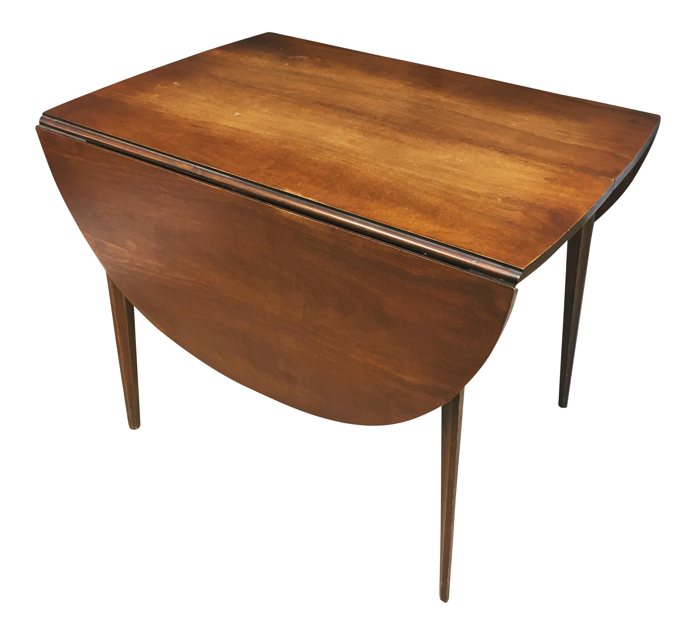 Mid Century Modern Broyhill Brasilia Drop Leaf Dining Table
