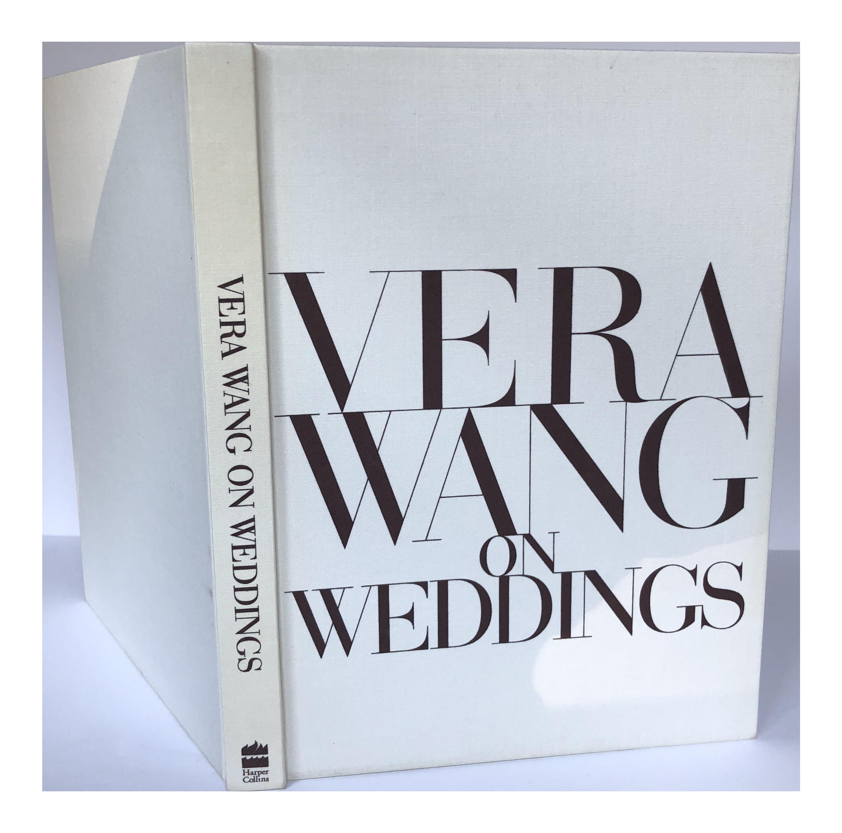 Vera Wang On Weddings - Coffee Table Book | Chairish