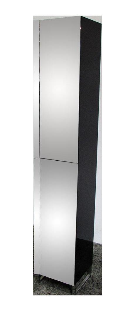 Roche bobois glass wood narrow case chairish for Armoire roche bobois