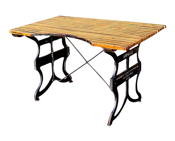 Industrial Dining or Work Table Chairish : industrial dining or work table 0783 from www.chairish.com size 573 x 460 png 168kB