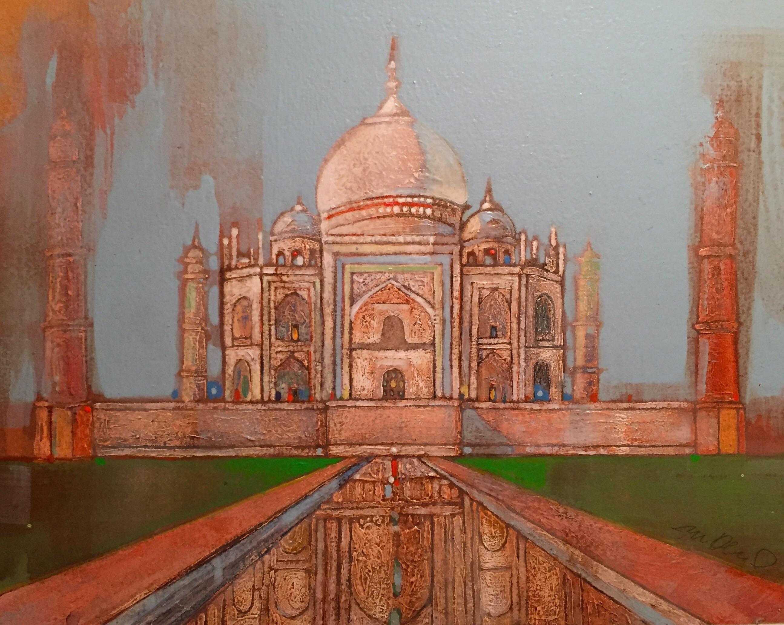 Taj Mahal Watercolor | Chairish