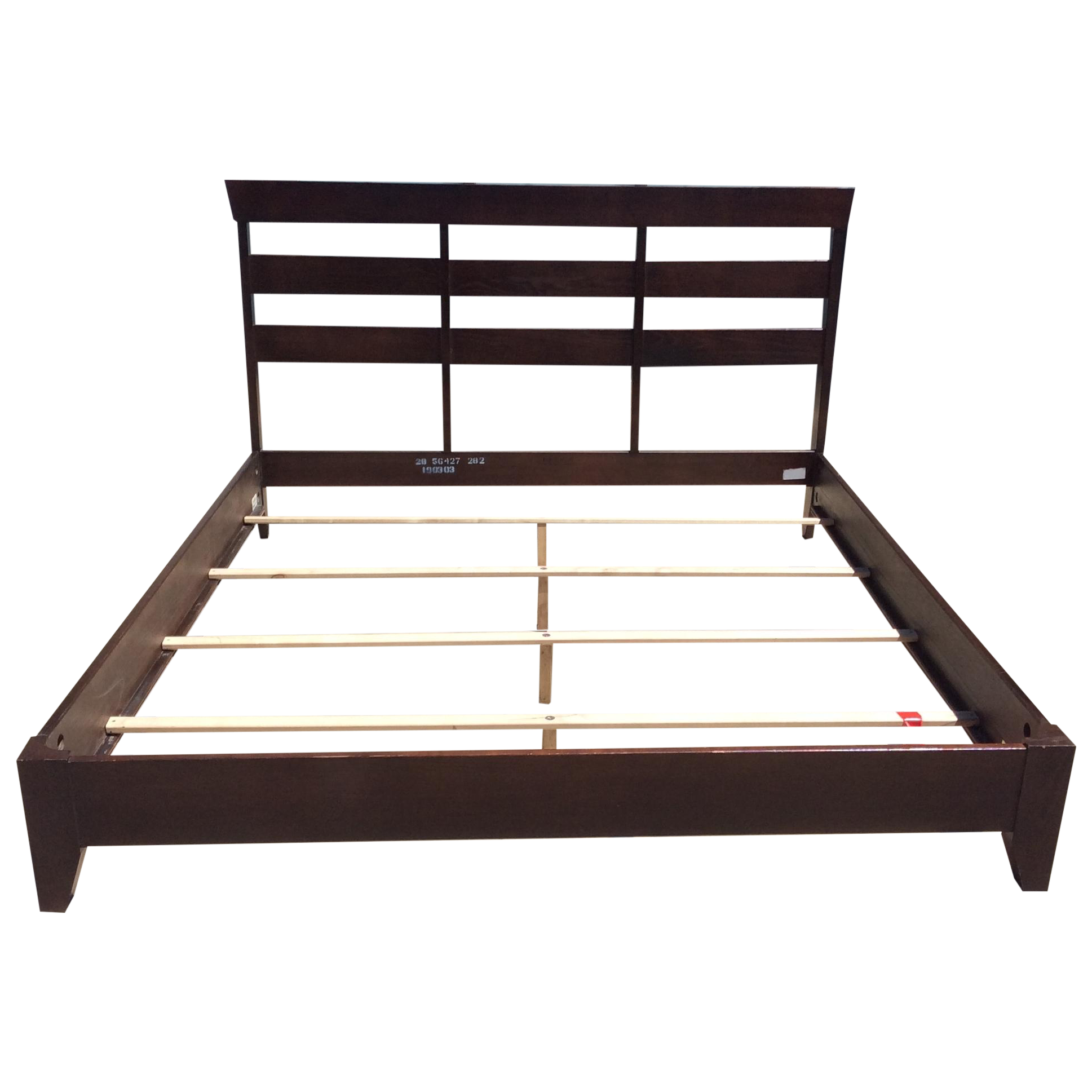 Ethan Allen Horizon Collection King Bed Frame Chairish