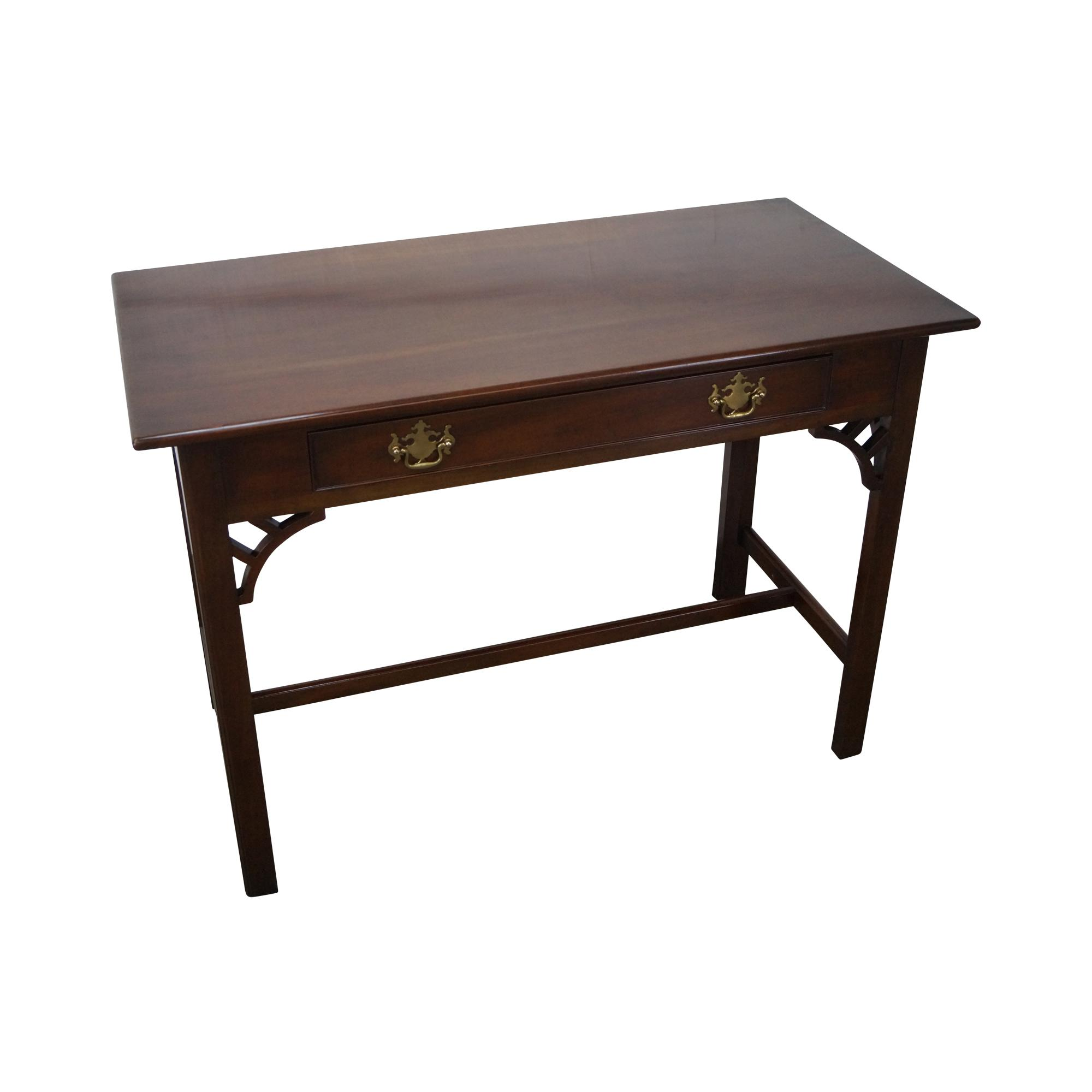 Kittinger Colonial Williamsburg Adaptation Mahogany Chippendale