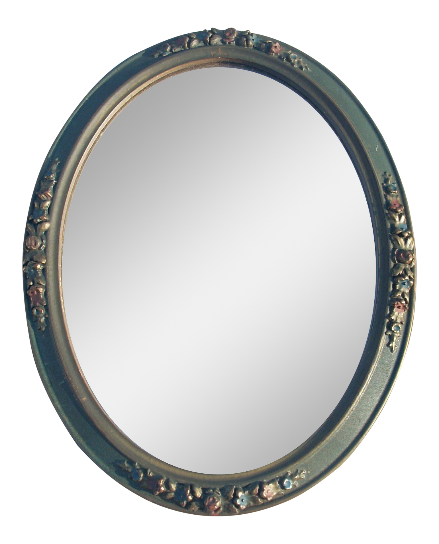 1920 S Antique Oval Wall Mirror Chairish