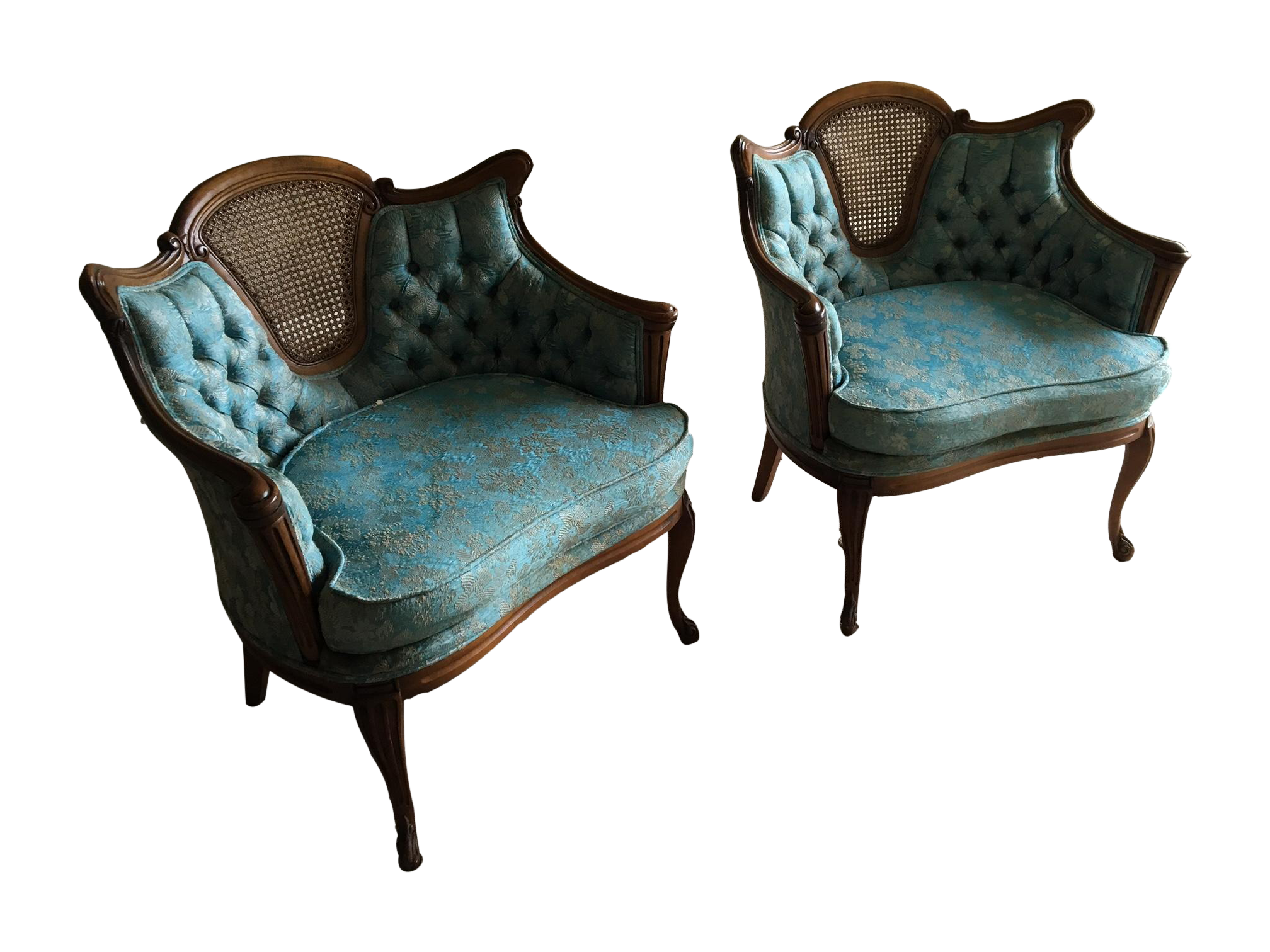 Antique queen anne wingback chair - Image Of Antique Queen Anne Wingback Chairs A Pair