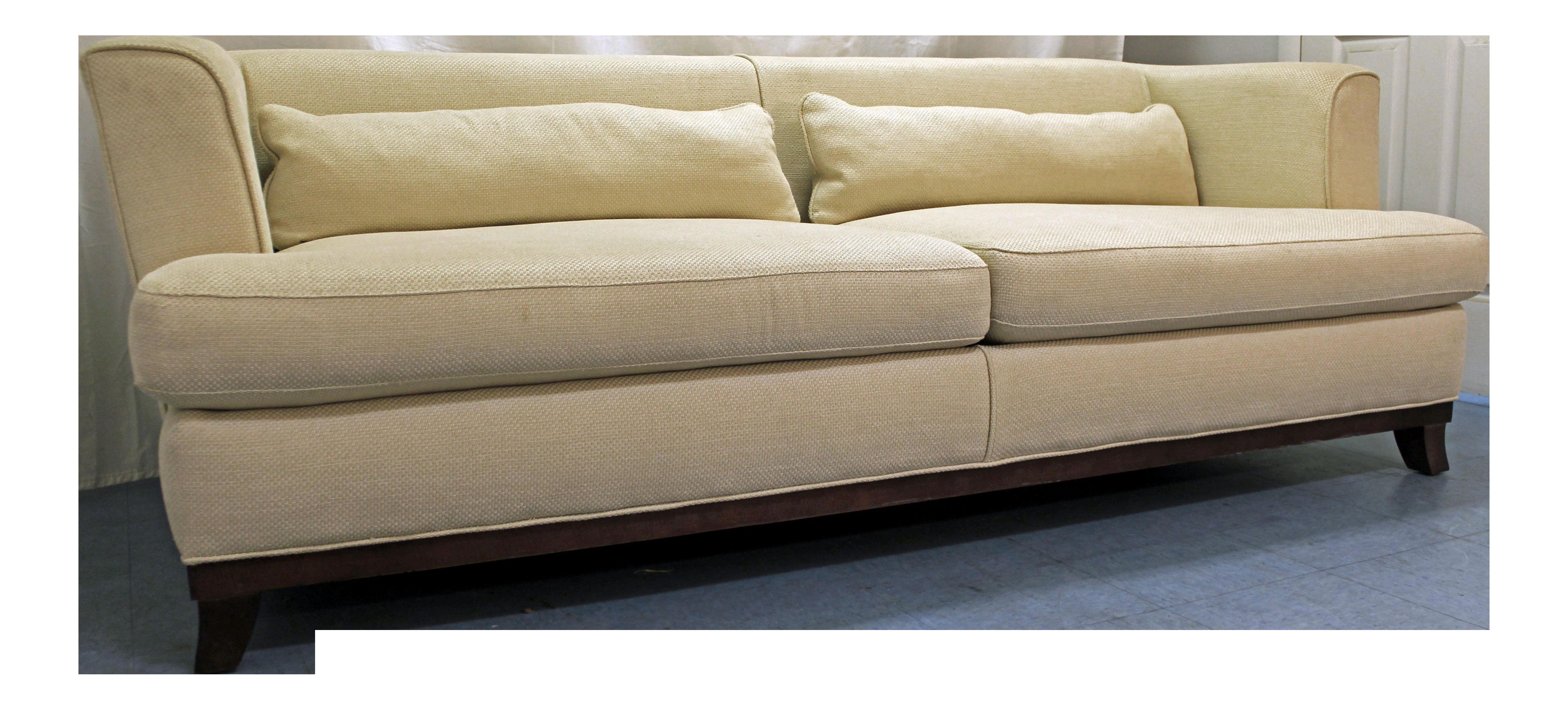 Milo Baughman For Thayer Coggin White Sofa Chairish