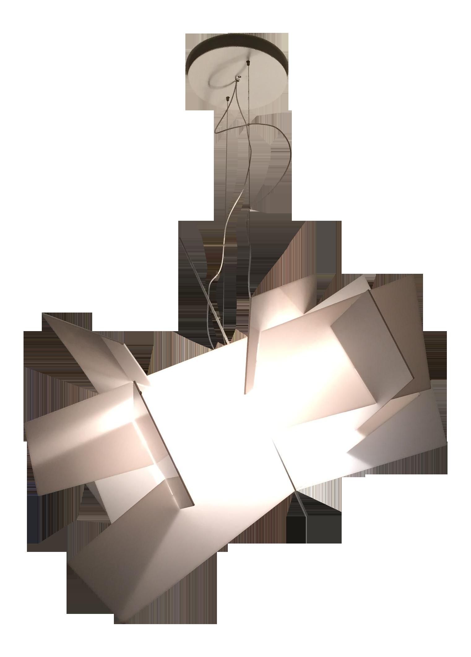 foscarini big bang chandelier  chairish - image of foscarini big bang chandelier