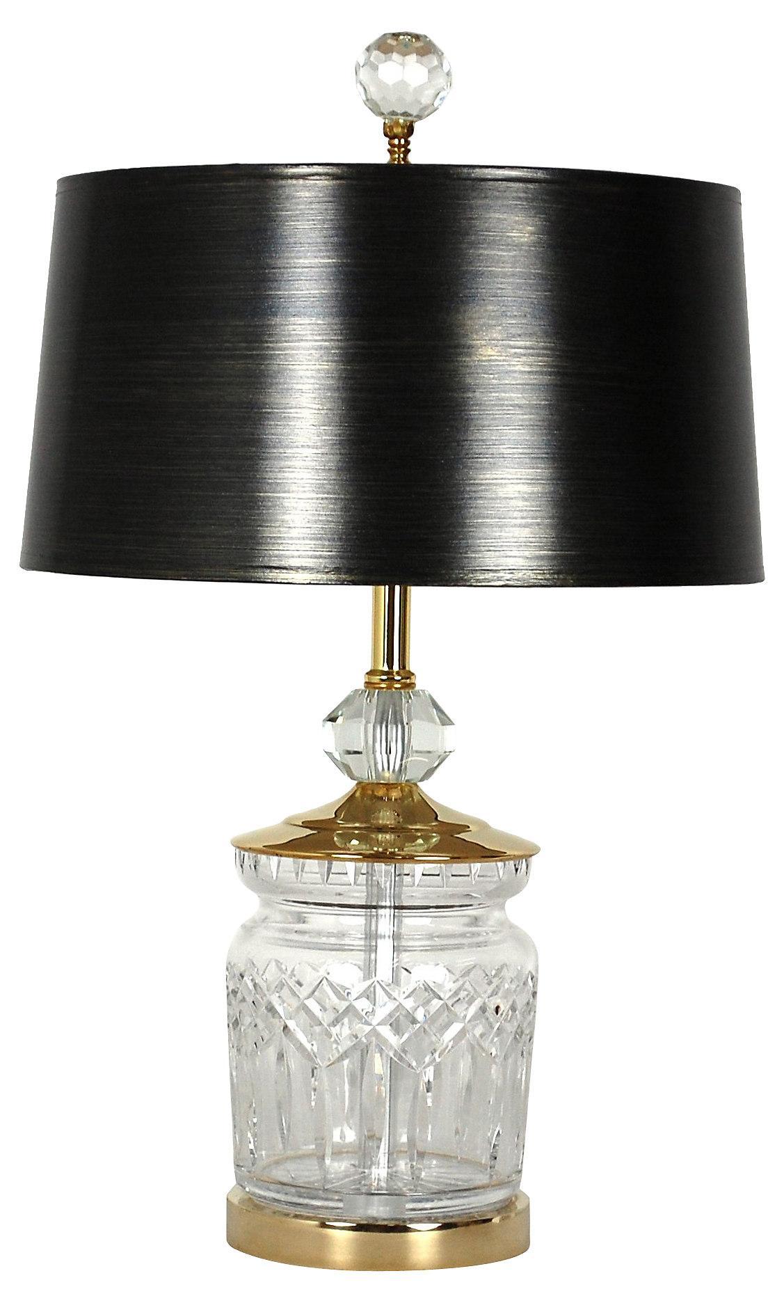 Vintage Waterford Crystal Lamp Chairish